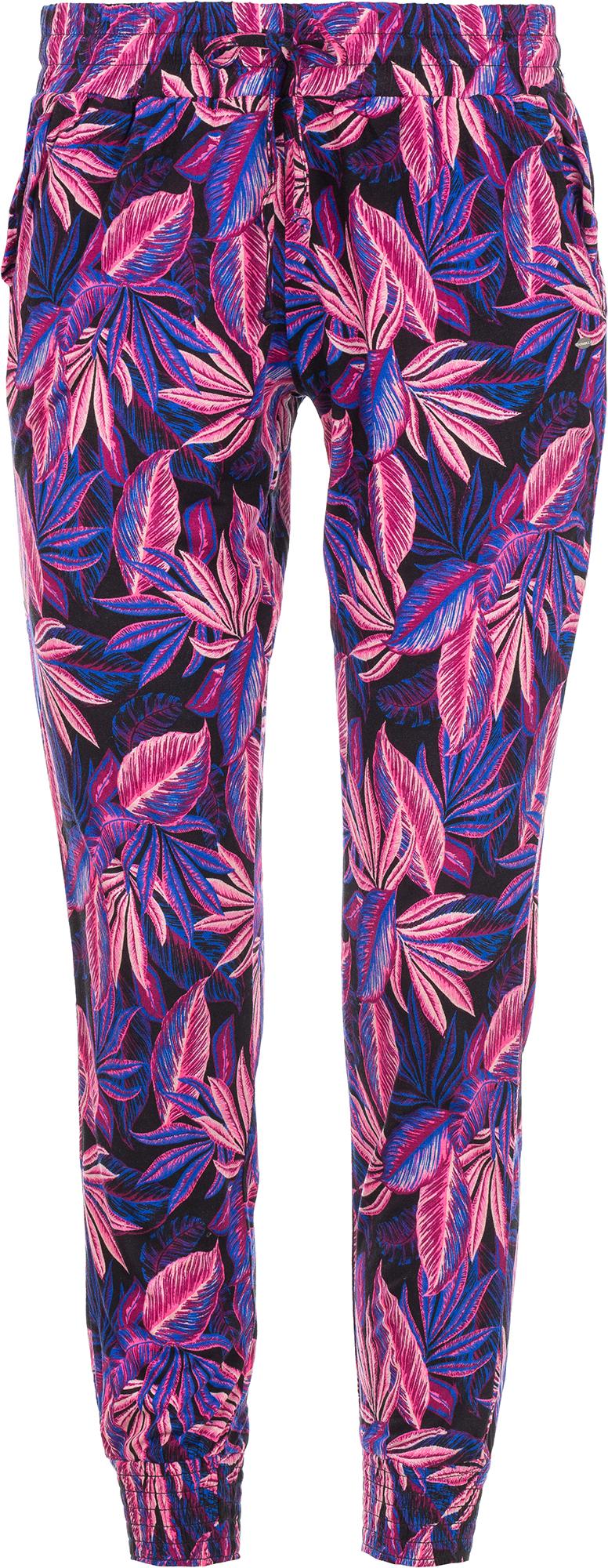 O'Neill Брюки женские O'Neill Printed Jersey, размер 48-50 брюки o neill o neill on355emaycp0