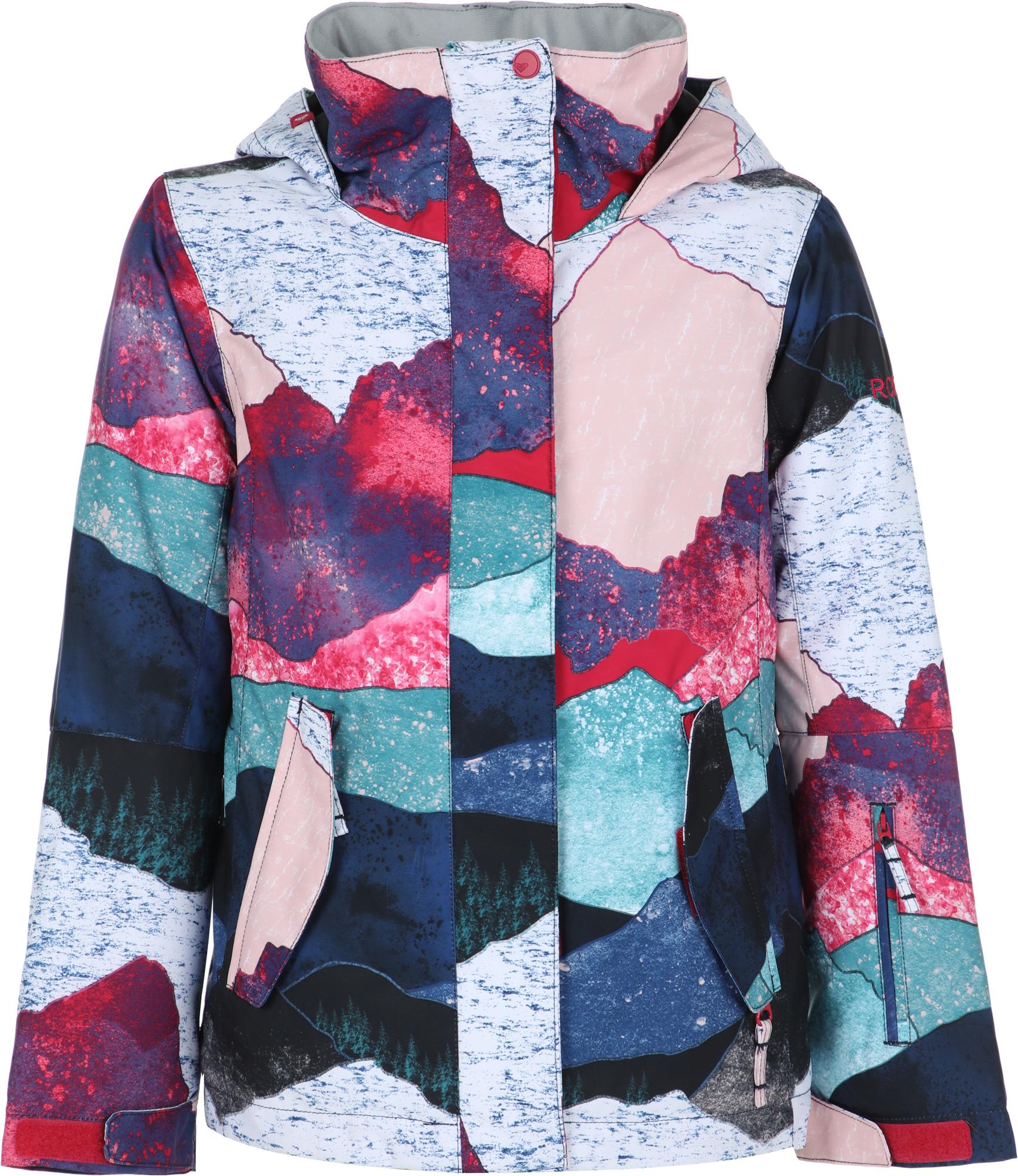 Roxy Куртка утепленная для девочек Roxy Jetty Girl, размер 164