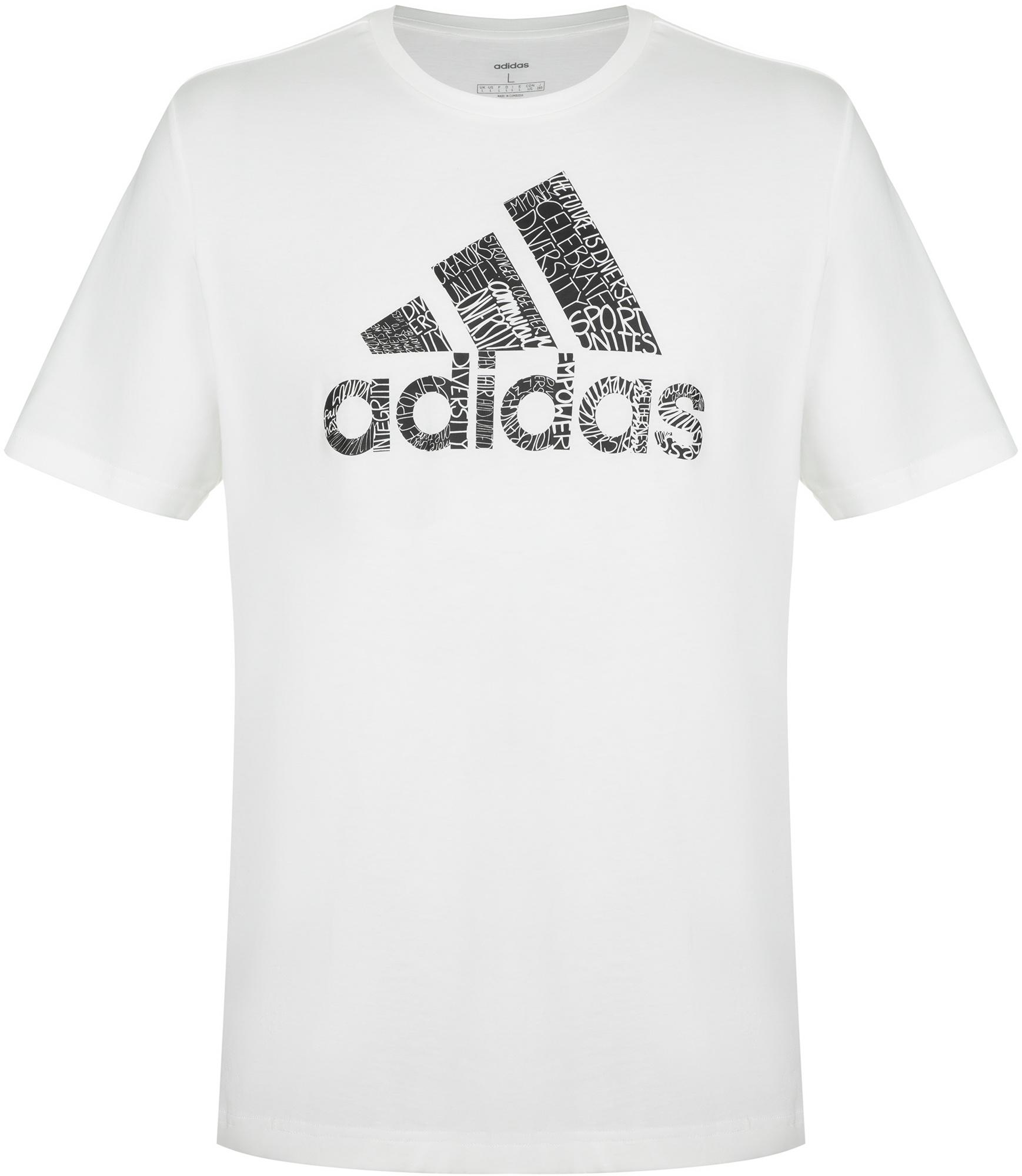 Adidas Футболка мужская adidas Unity, размер 56-58