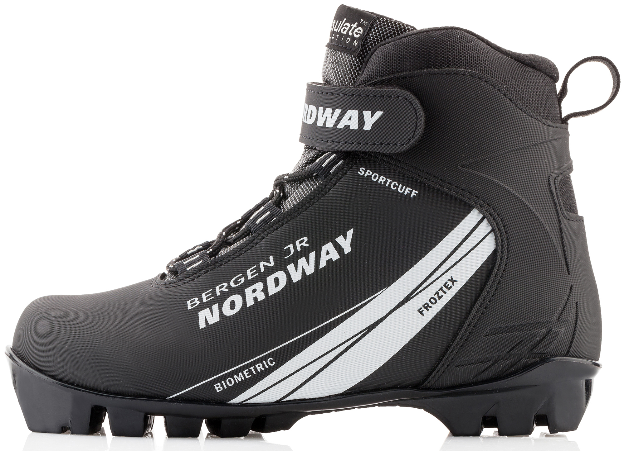 Nordway Ботинки для беговых лыж детские Nordway Bergen палки для беговых лыж женские nordway vega
