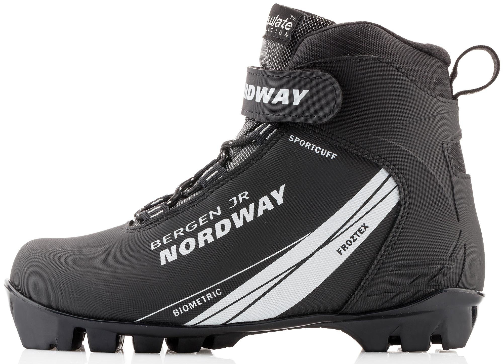 Nordway Ботинки для беговых лыж детские Nordway Bergen nordway крепления для лыж nordway nn 75