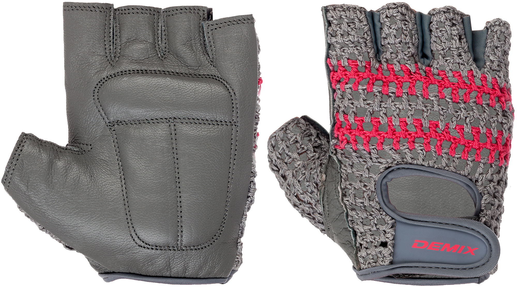 Demix Перчатки для фитнеса Demix, размер M перчатки для фитнеса starfit su 107 цвет голубой черный размер m