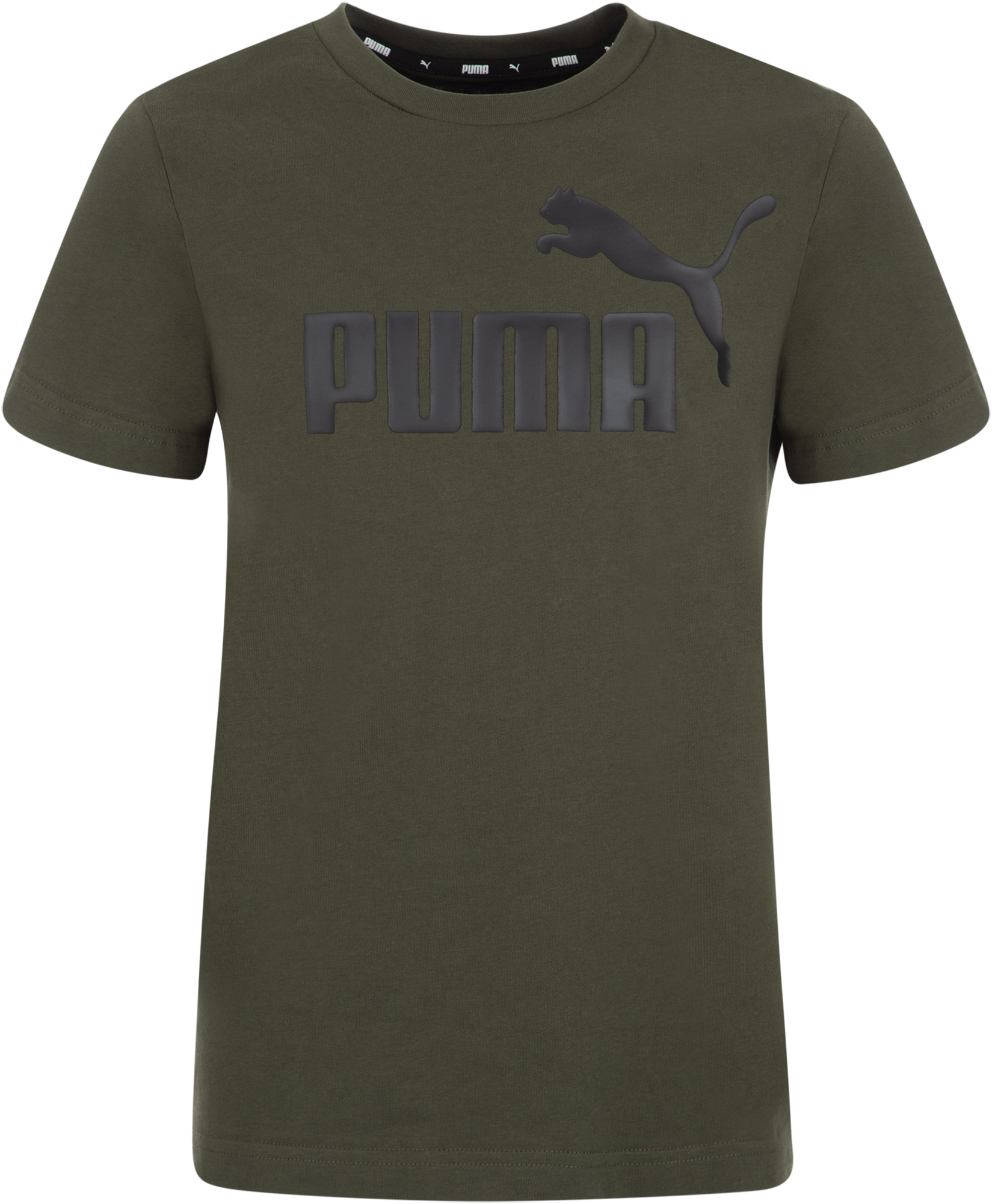 Puma Футболка для мальчиков Puma ESS Logo Tee B, размер 152 цена 2017