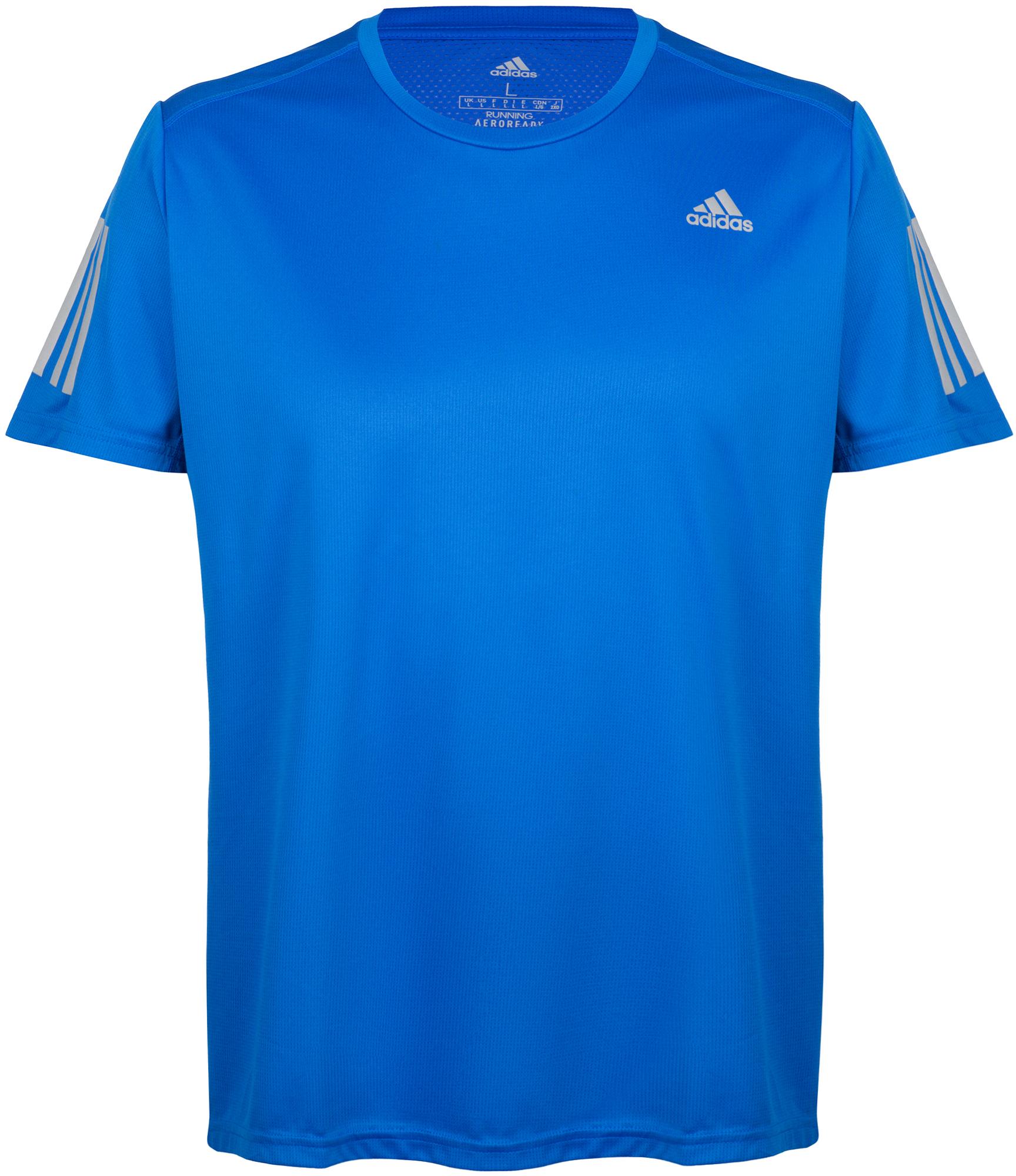 Фото - Adidas Футболка мужская adidas Own the Run, размер 56-58 футболка с длинными рукавами для бега run dry