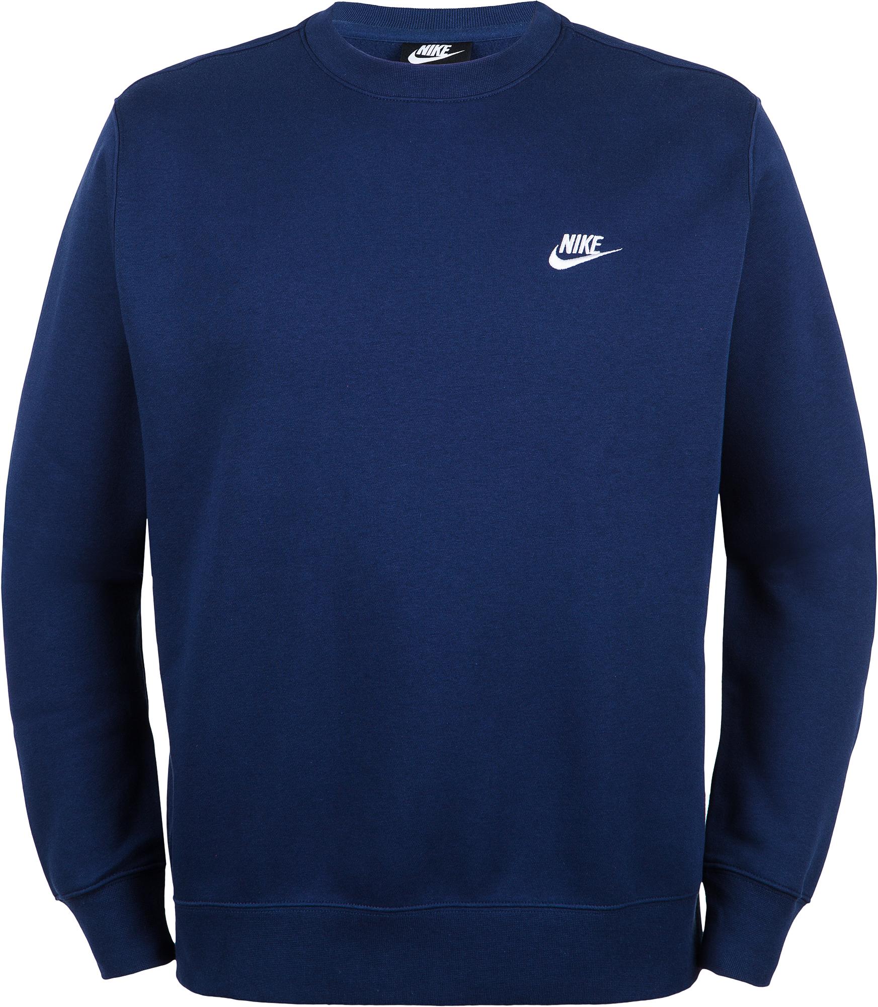 Фото - Nike Свитшот мужской Nike Sportswear Club, размер 46-48 nike свитшот мужской nike sportswear just do it размер 52 54