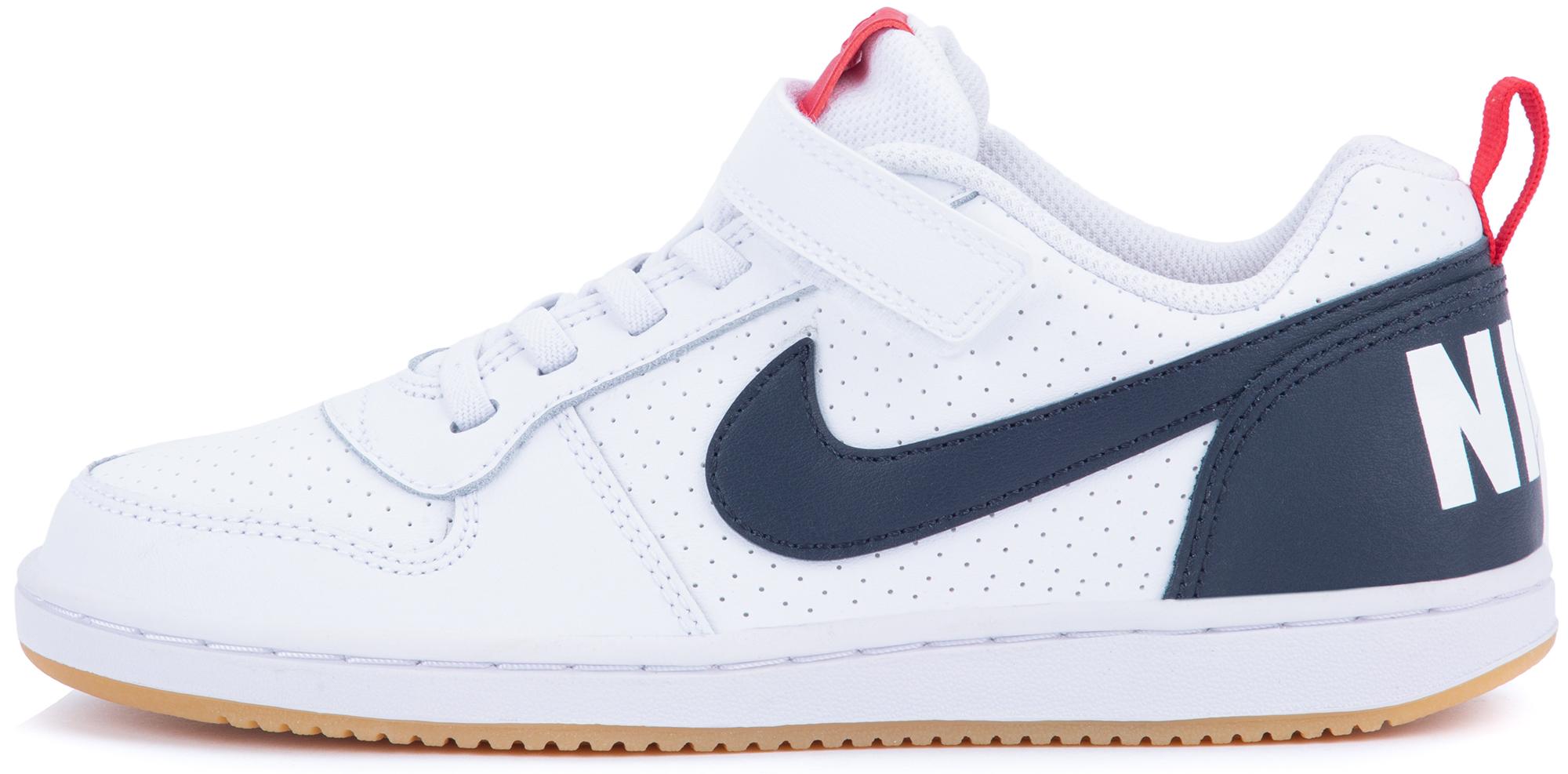 Nike Кеды для мальчиков Court Borough Low, размер 32,5
