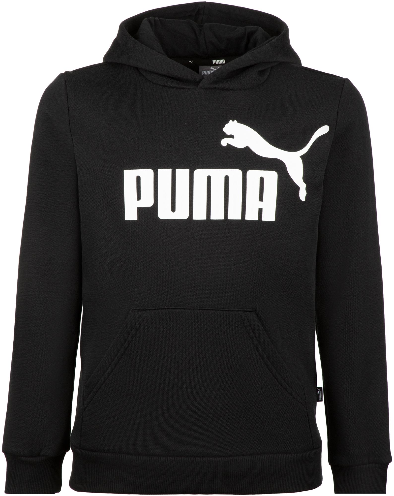 худи женское adidas ess 3s fz hd цвет серый розовый br2438 размер s 42 44 Puma Худи для мальчиков Puma ESS Logo, размер 140