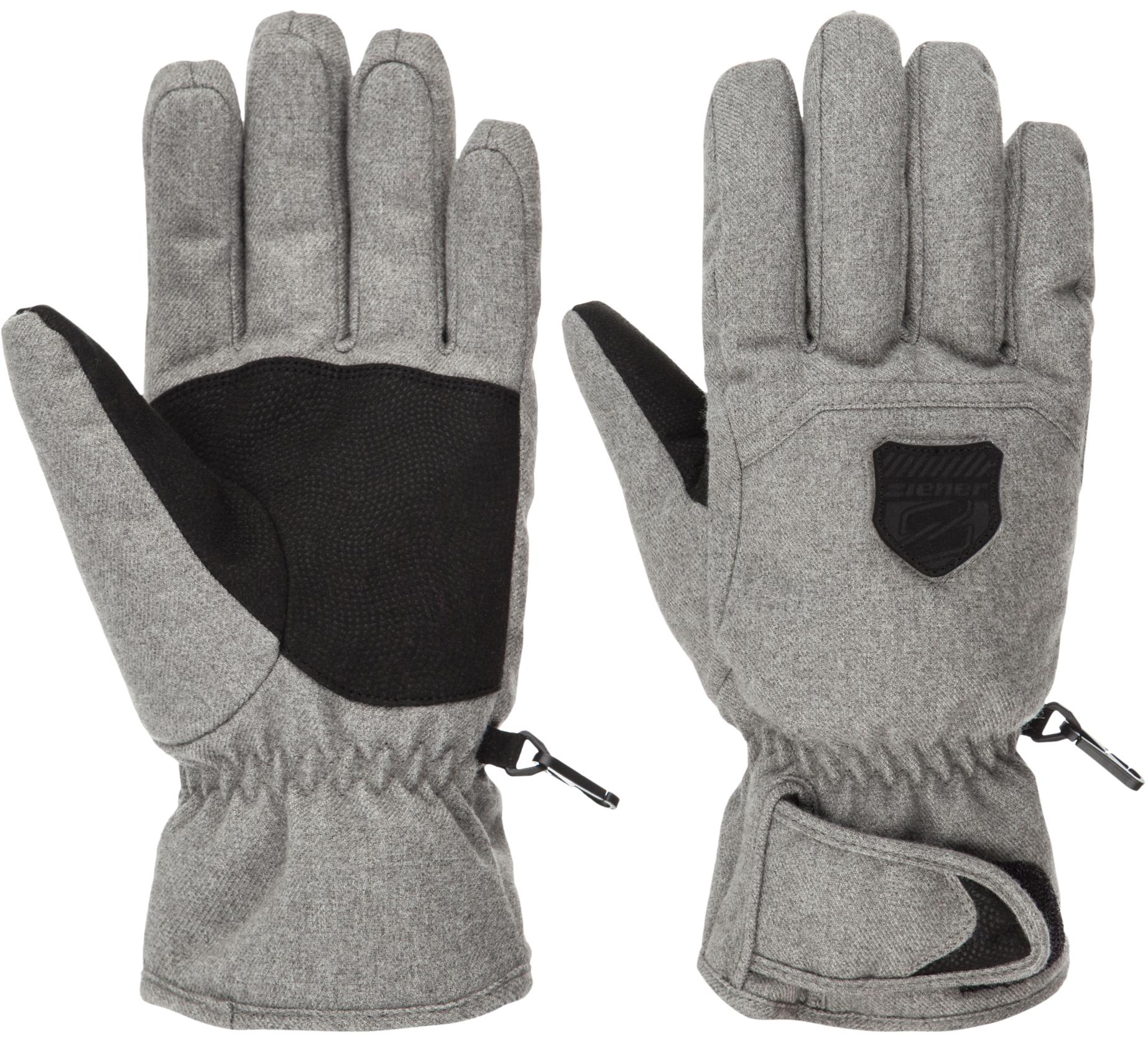 Ziener Перчатки мужские Ziener Grazias перчатки мужские ziener garim as sm glove ski alpine цвет черный синий салатовый 170019 798 размер 9 5
