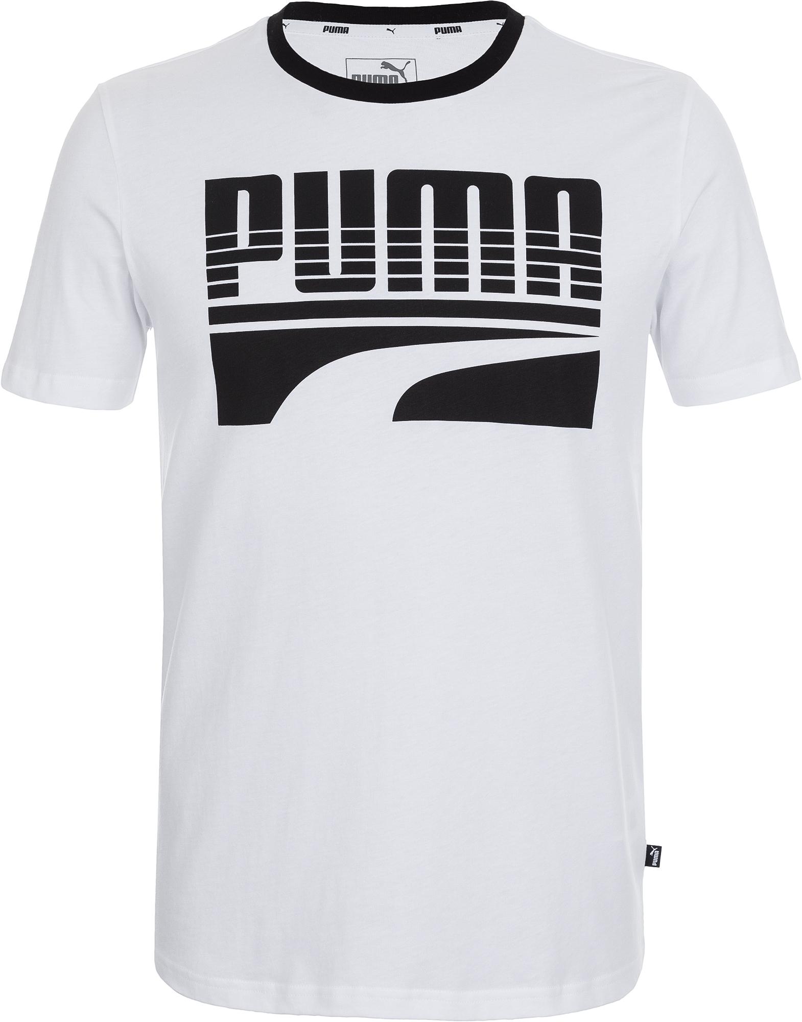 Puma Футболка мужская Puma Rebel Basic, размер 50-52 цена и фото