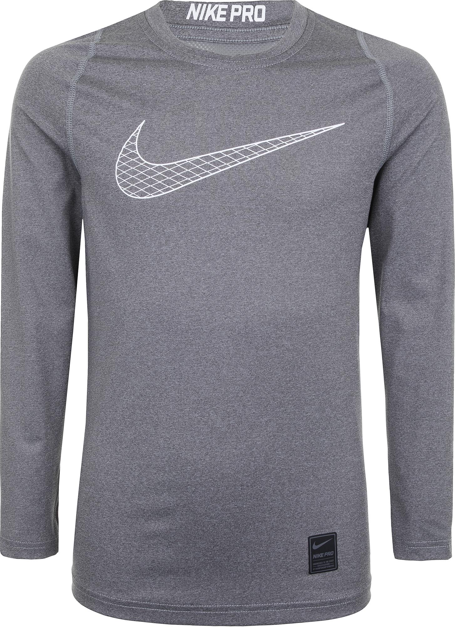 Nike Свитшот для мальчиков Nike Pro, размер 158-170 цена и фото