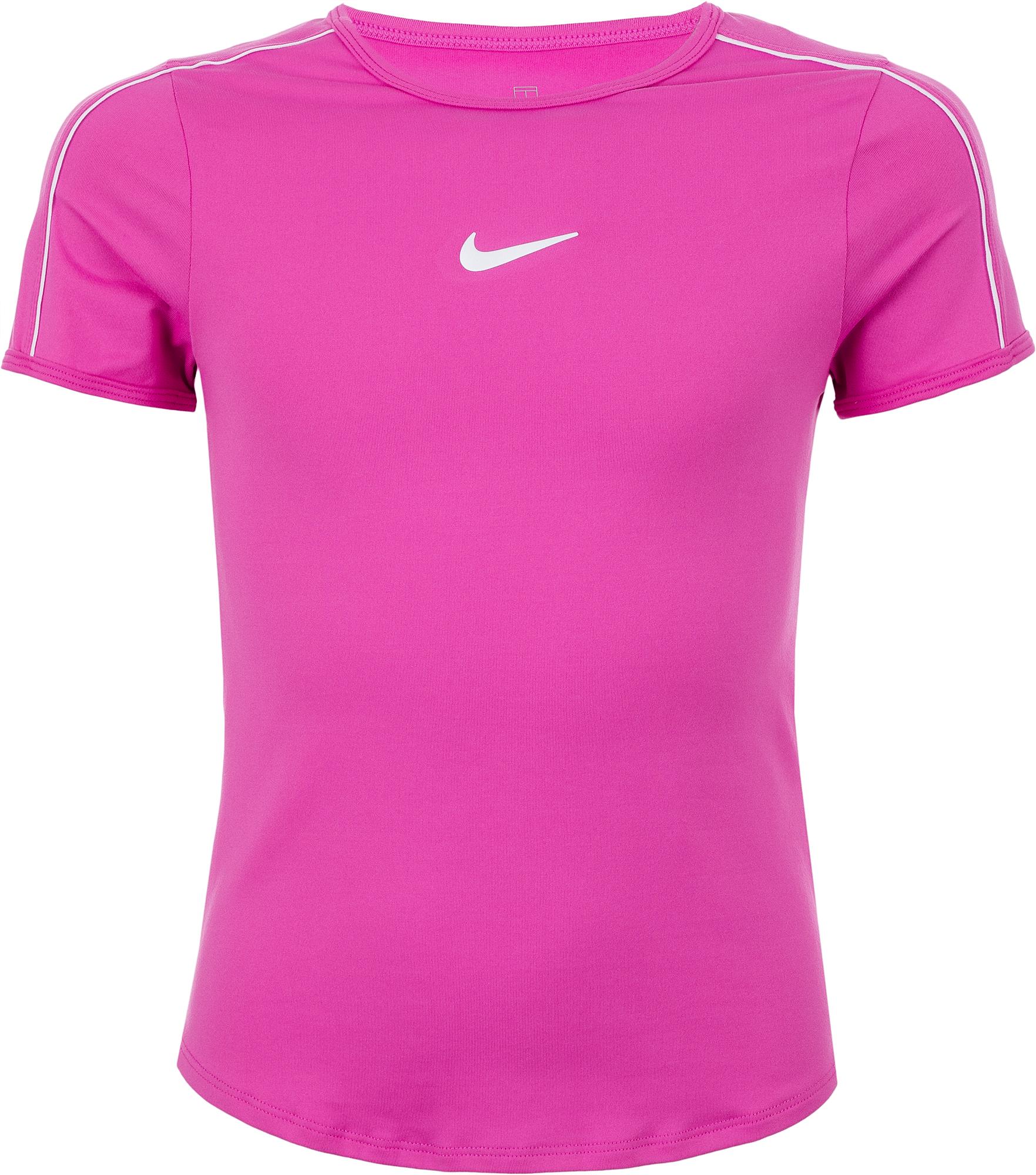 Nike Футболка для девочек  Court Dri-FIT, размер 156-164