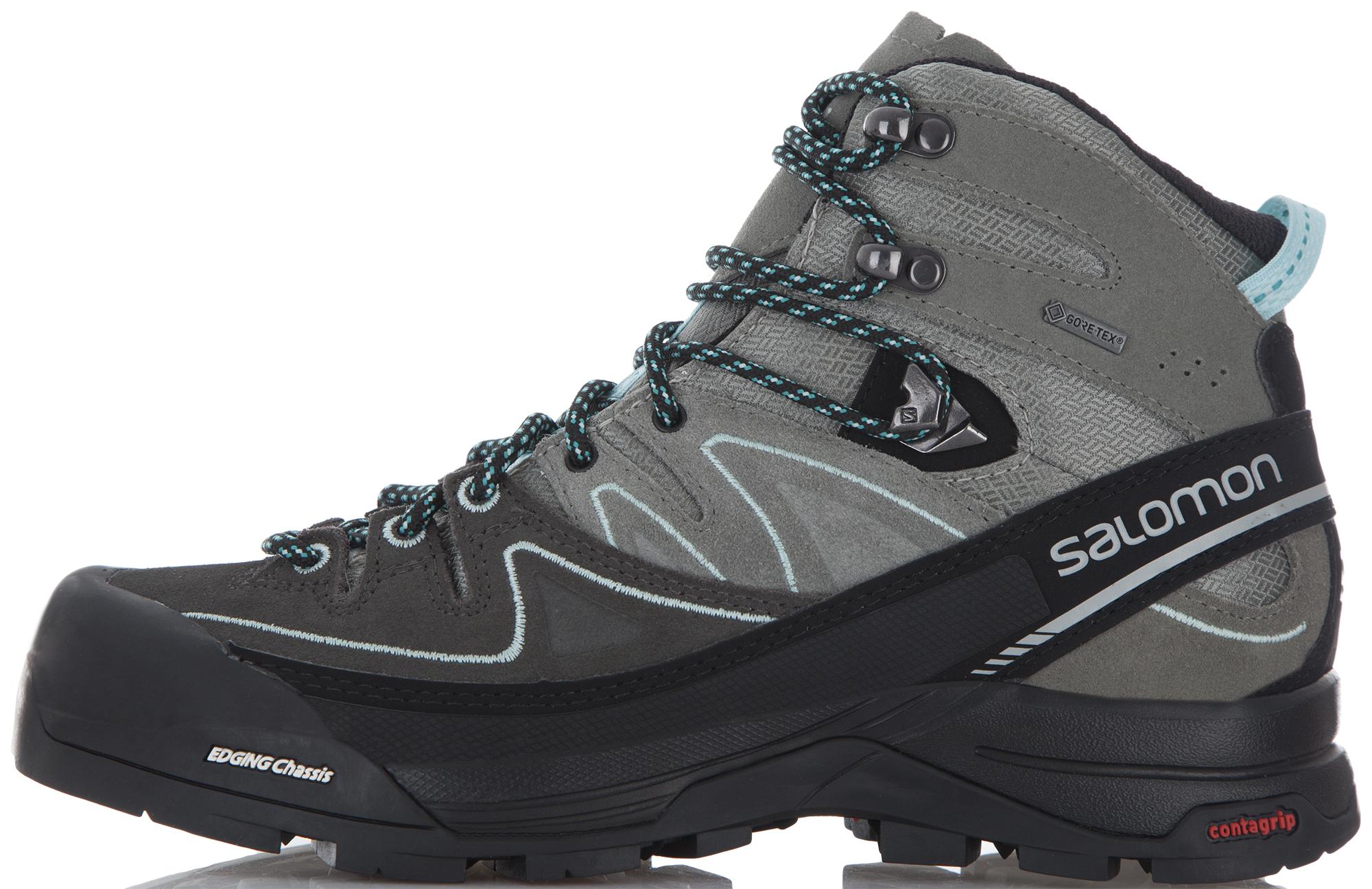 Salomon Ботинки женские Salomon X Alp Mid Ltr Gtx salomon ботинки мужские salomon x alp mid