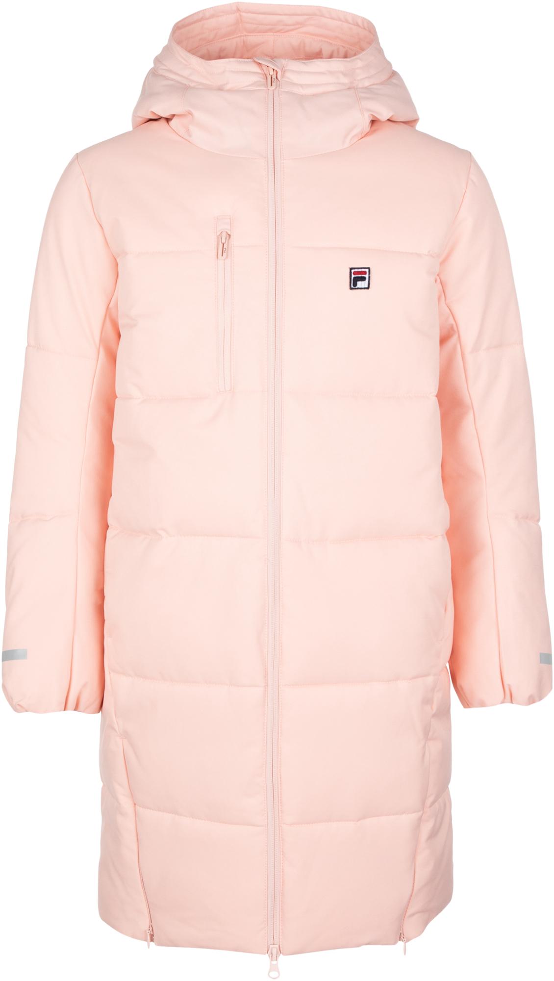 Fila Куртка утепленная для девочек Fila, размер 140 fila джемпер для девочек fila размер 140