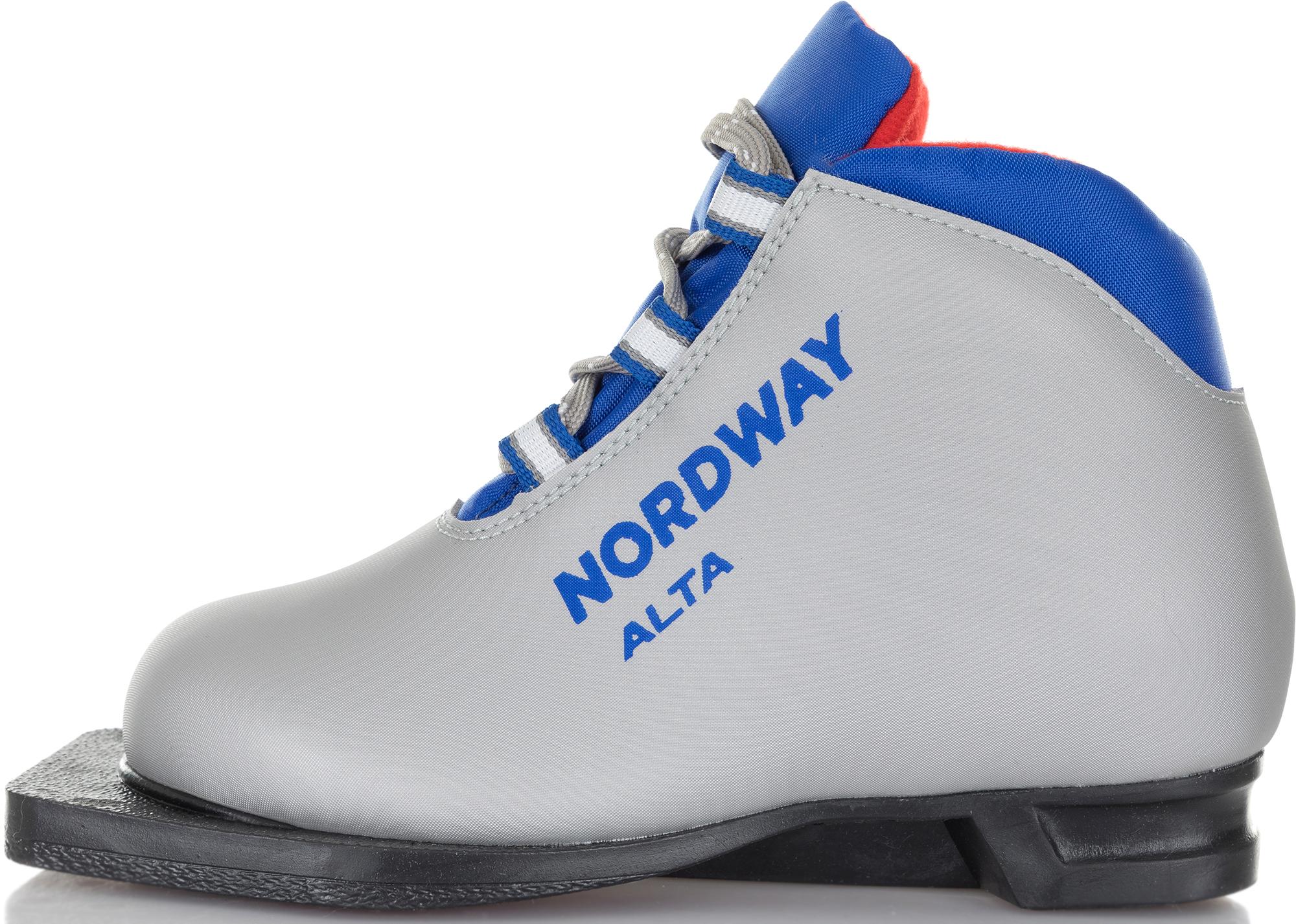 Nordway Ботинки для беговых лыж детские Nordway Alta, размер 37 палки для беговых лыж cliff 140 blue