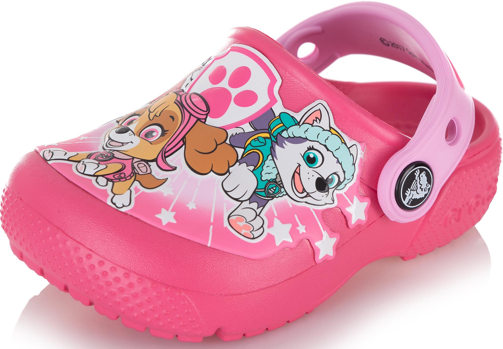 Crocs Шлепанцы для девочек FunLab Paw Patrol Clogs, размер 25