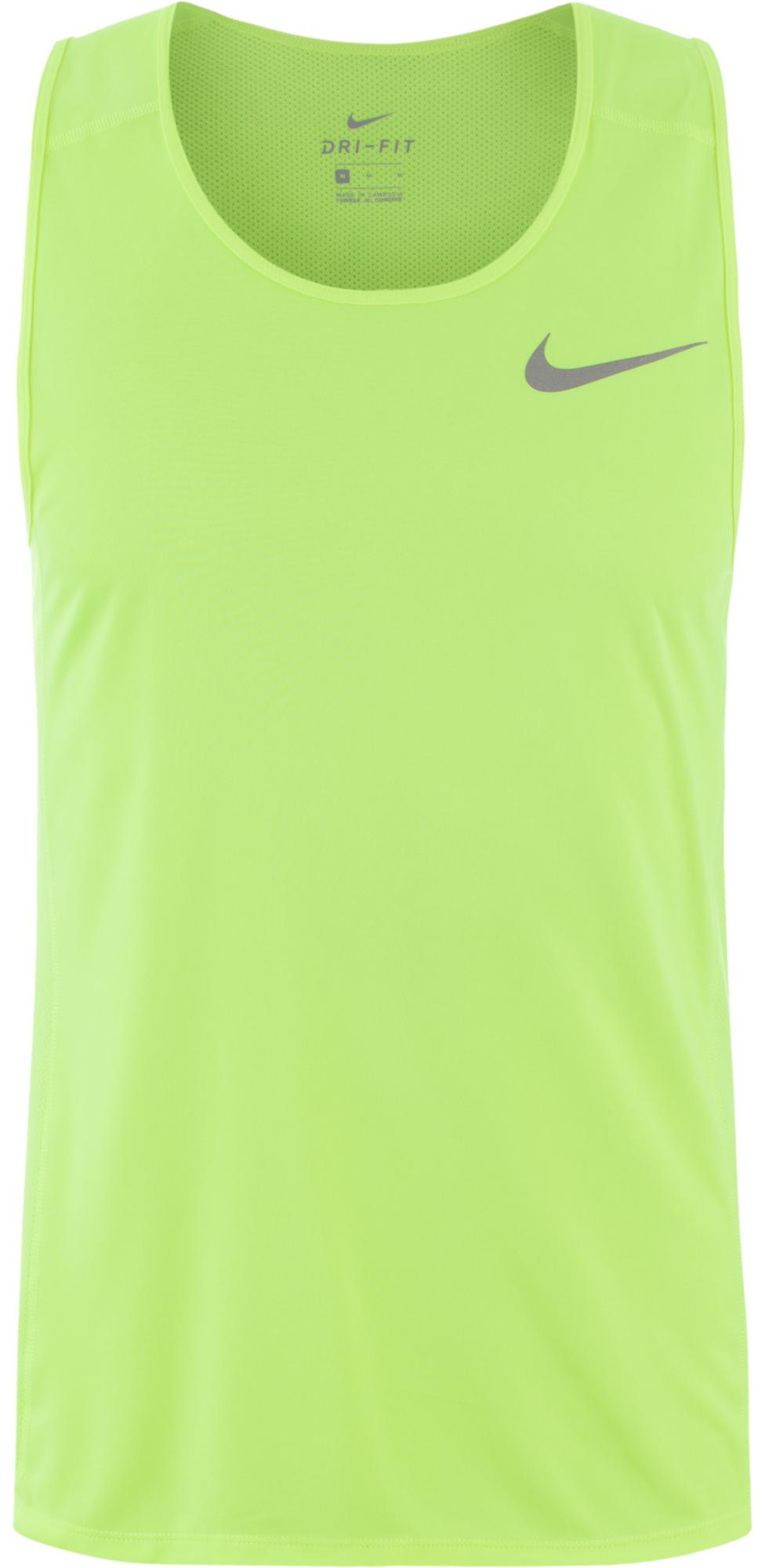 Nike Майка мужская Nike Dry Miler футболка nike майка dri fit cool miler singlet