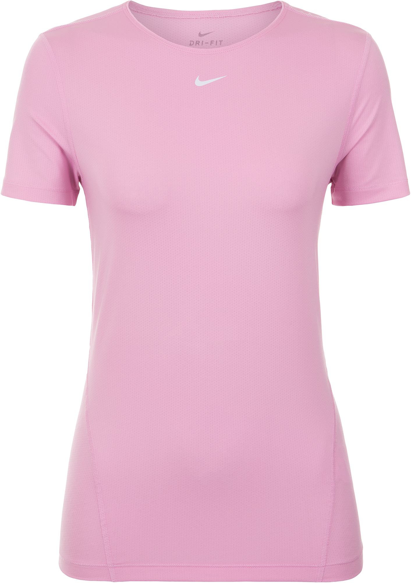 Nike Футболка женская Nike Pro, размер 40-42 xtep женская тонкая воздухопроницаемая спортивная футболка