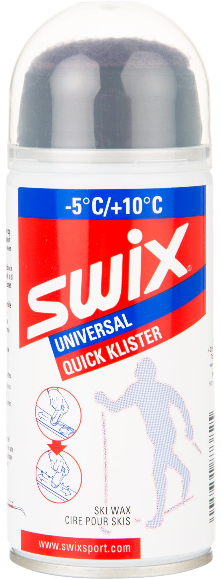 Swix Аэрозольный клистер Swix, -5C/+10C, размер Без размера swix стальная щетка средней жесткости swix