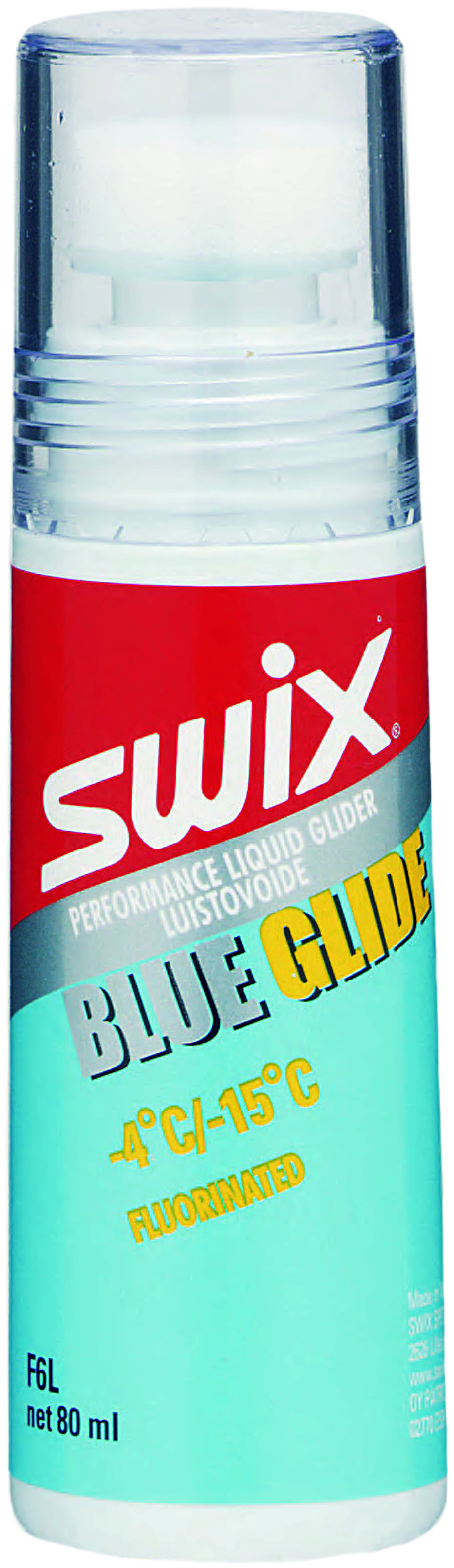 Swix Мазь скольжения F6L Blue Glider, -4С/-15С
