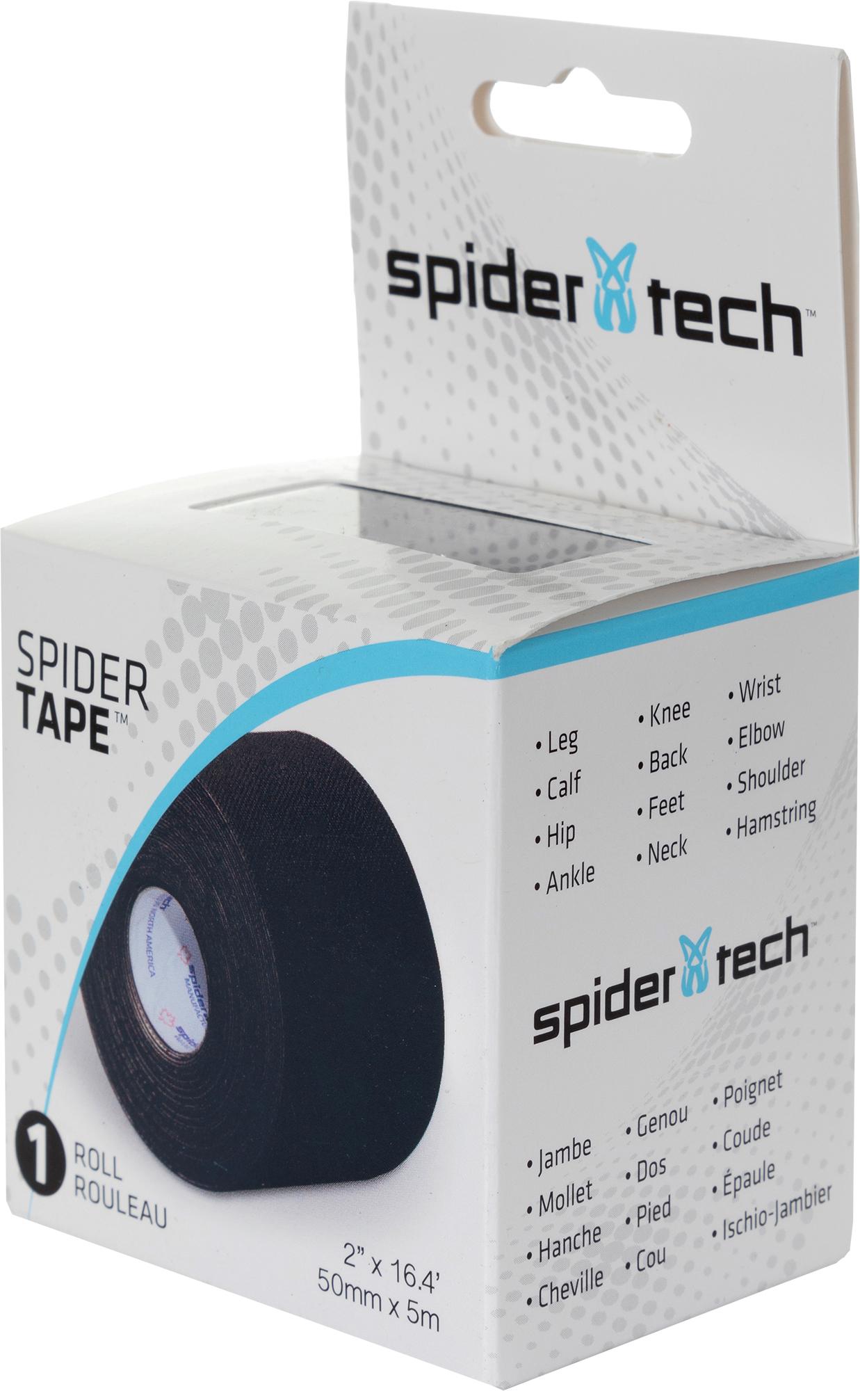 spidertech Тейп SpiderTech, 5 см х 5 м все цены