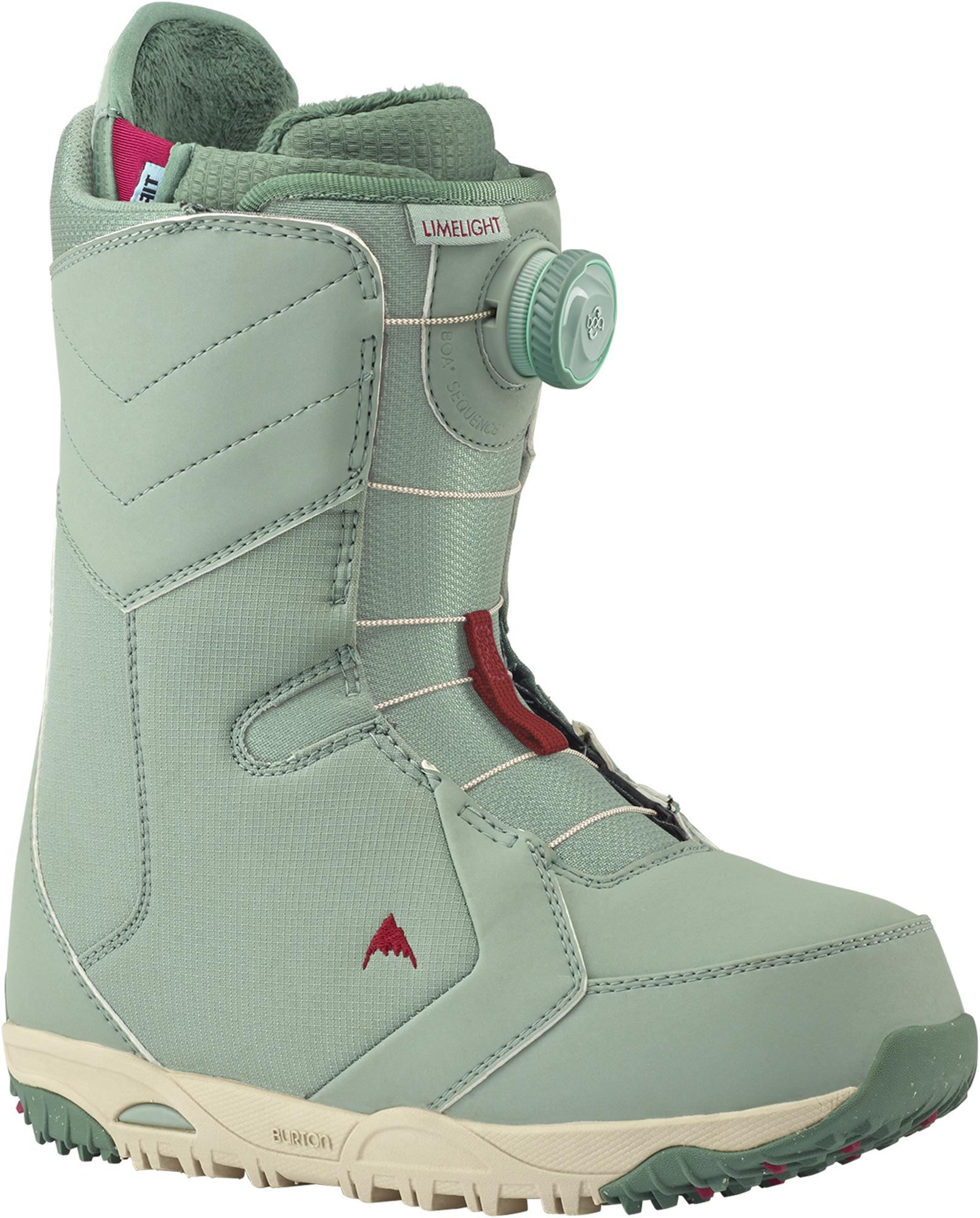 все цены на Burton Сноубордические ботинки женские Burton Limelight Boa, размер 38,5
