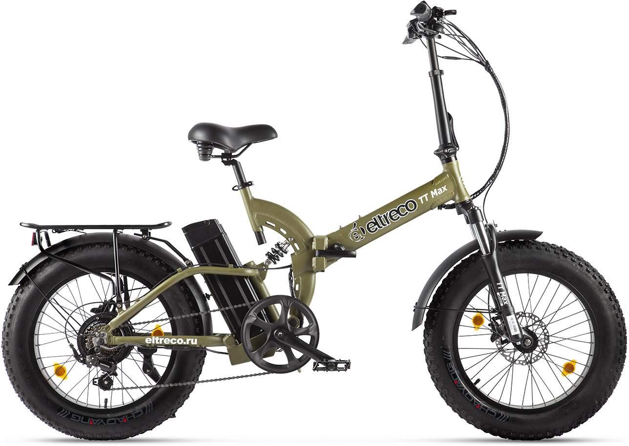 цена на Eltreco Электровелосипед Eltreco TT Max