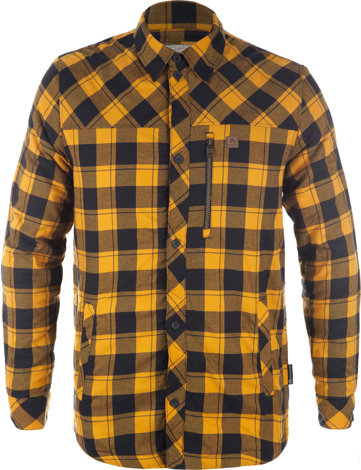 Outventure Рубашка с длинным рукавом мужская Outventure outventure ветровка мужская outventure