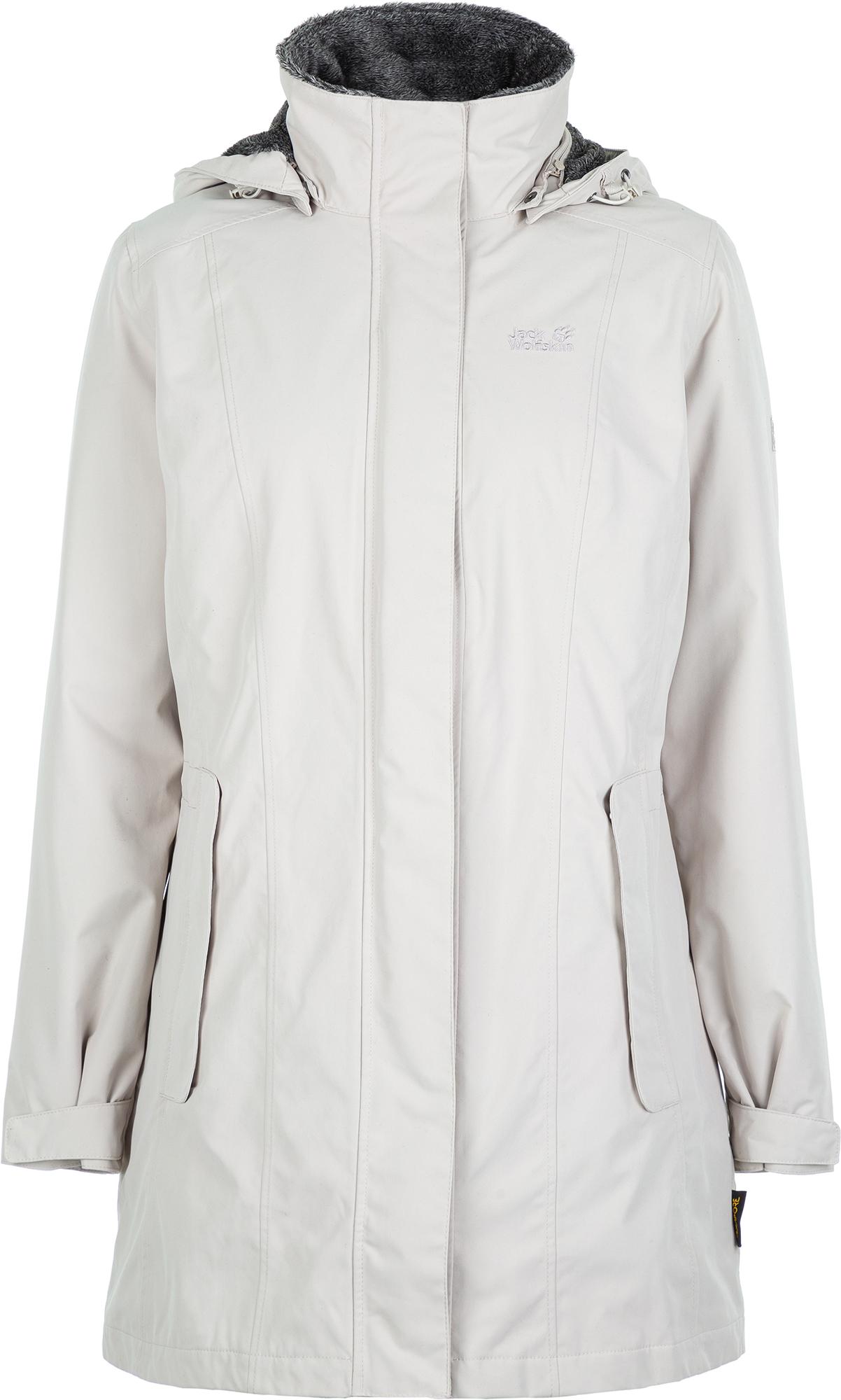 Jack Wolfskin Куртка утепленная женская Jack Wolfskin Madison Avenue, размер 52-54 цена и фото