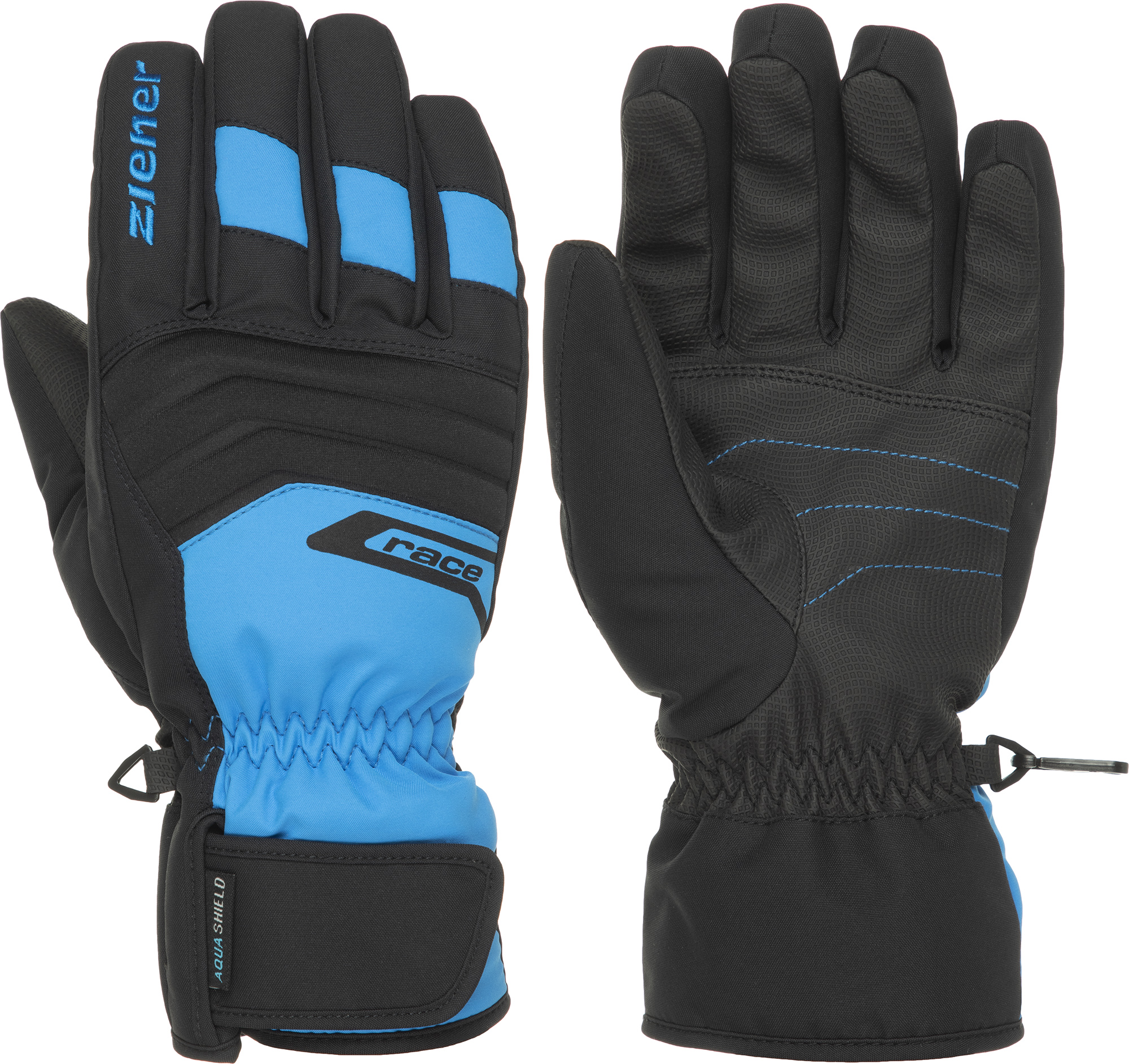 Ziener Перчатки мужские Ziener Gregg, размер 8,5 ziener перчатки мужские ziener gliss gtx размер 9