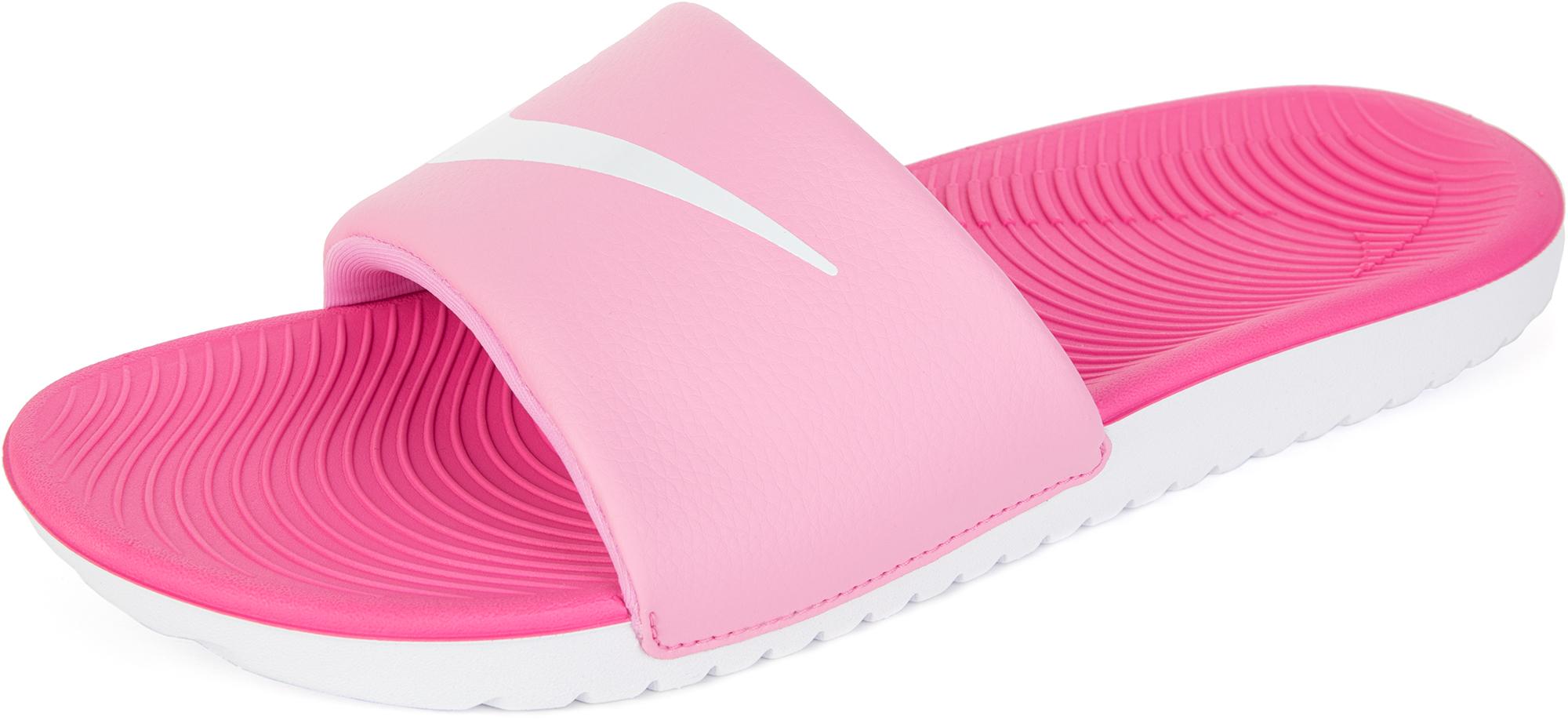 Nike Шлепанцы для девочек Nike Kawa Slide, размер 39 цена