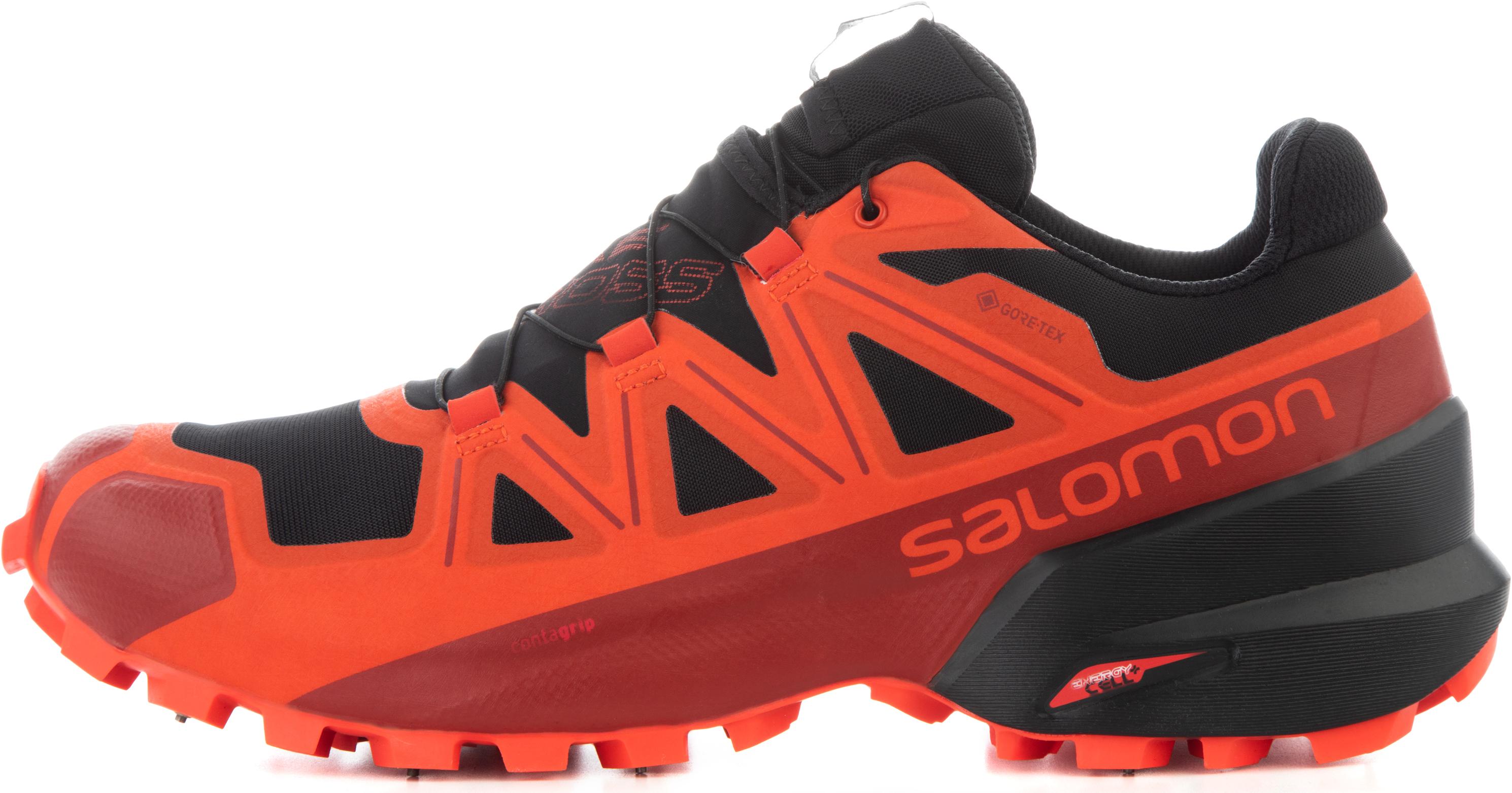 цена Salomon Кроссовки мужские Salomon Spikecross 5, размер 45
