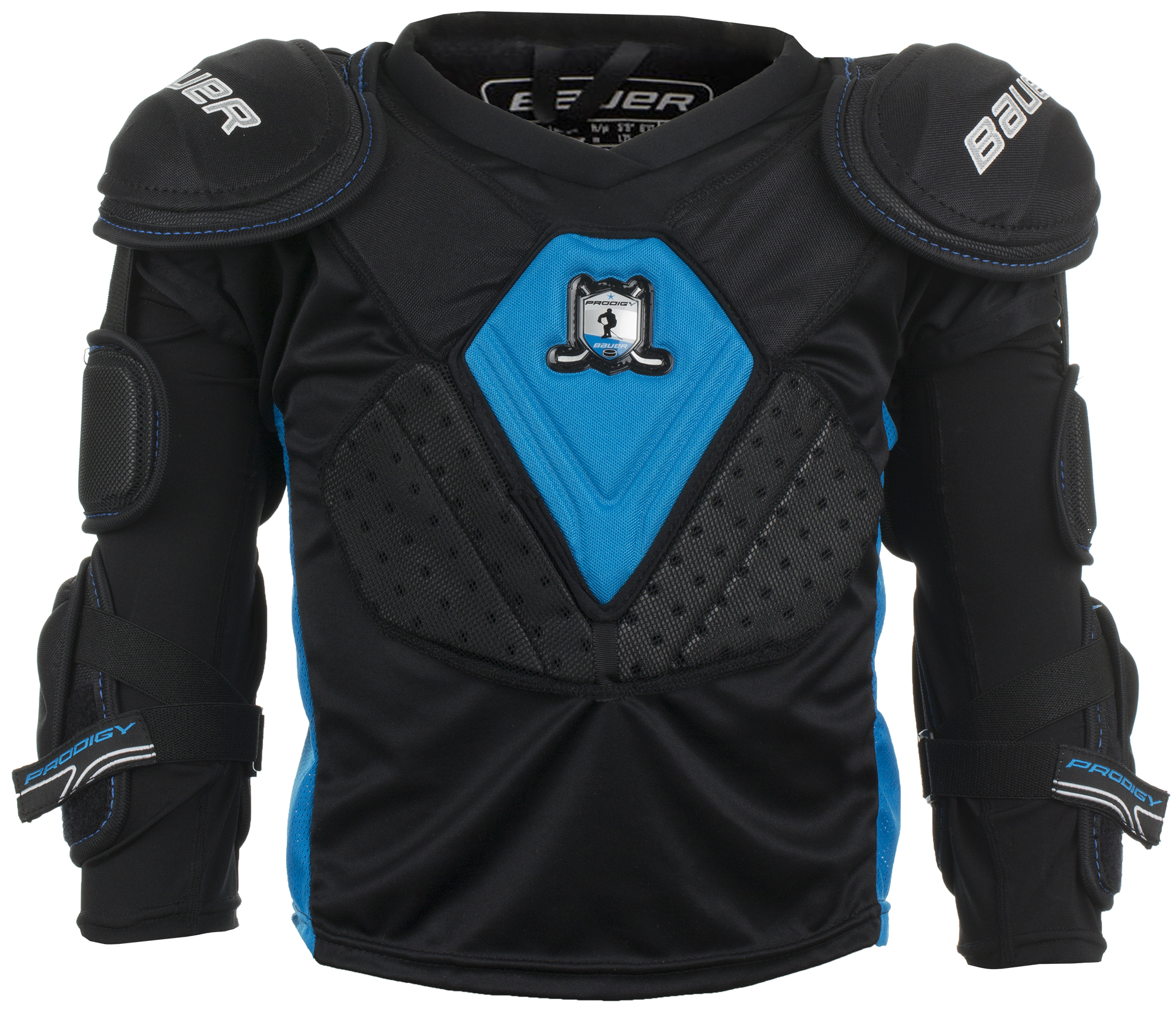 Bauer Нагрудник хоккейный юниорский Bauer Prodigy Top, размер 32-34