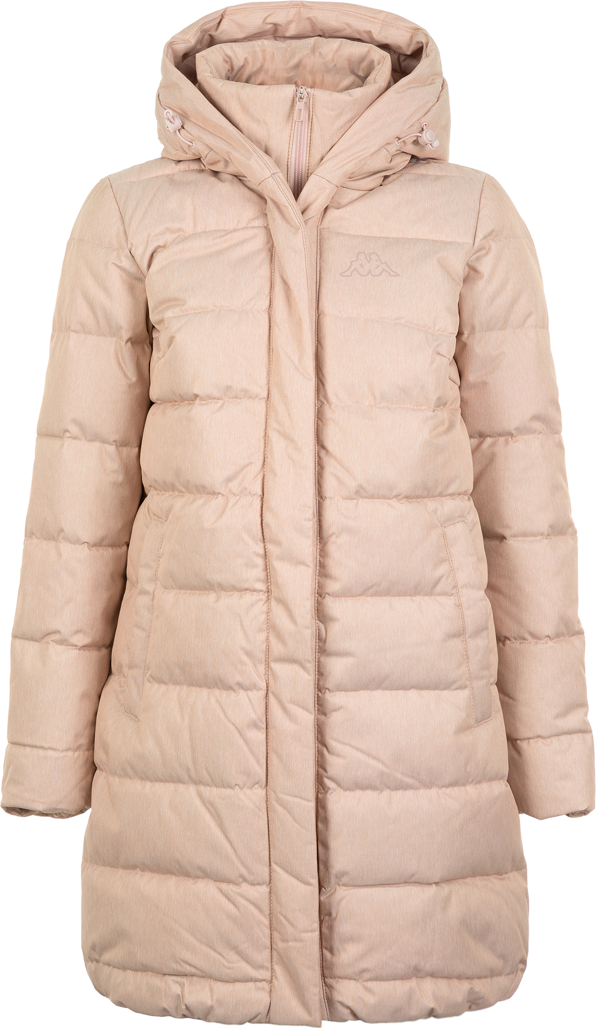 цена Kappa Куртка пуховая женская Kappa, размер 46 онлайн в 2017 году