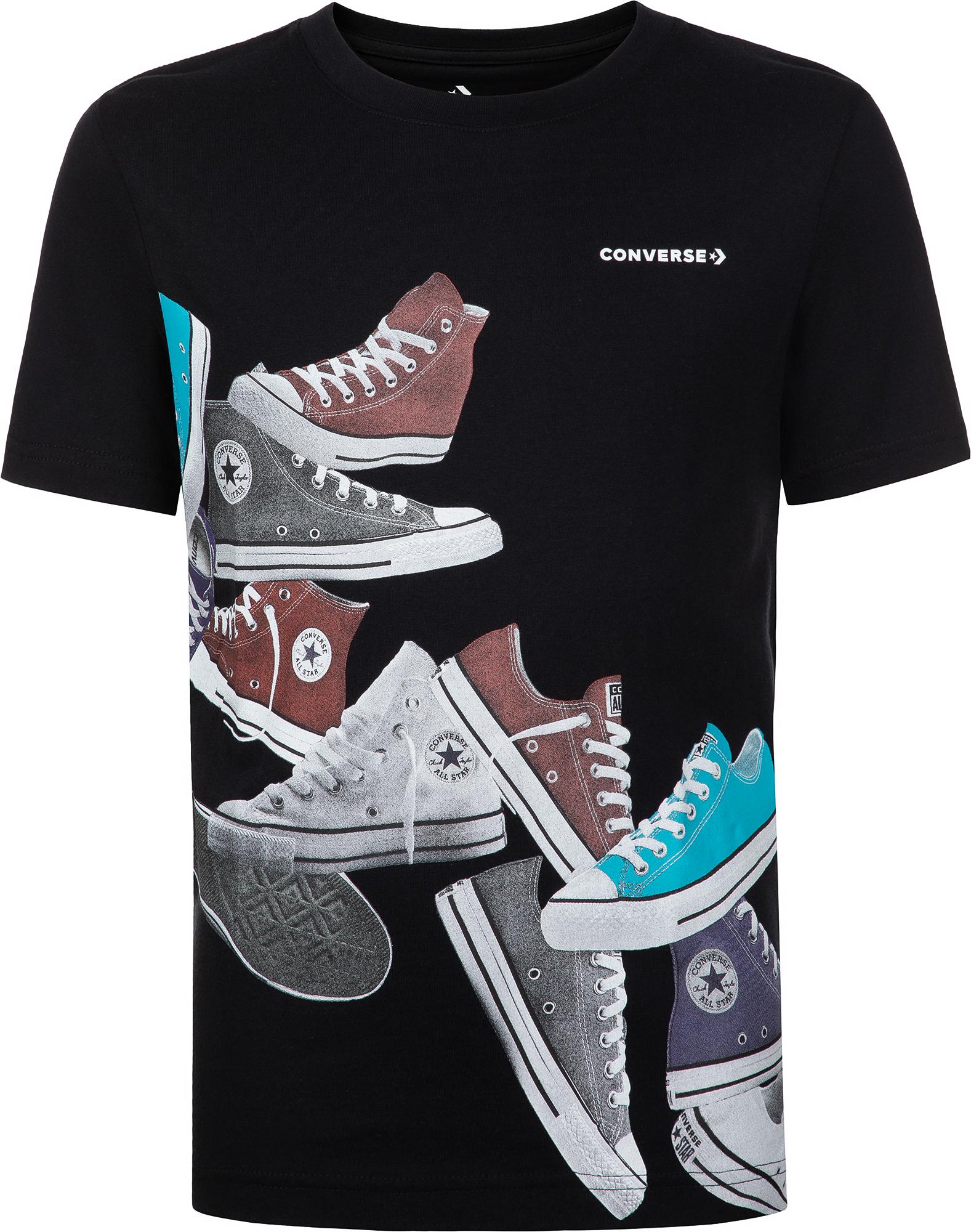 Фото - Converse Футболка для мальчиков Converse Ascending sneakers, размер 128 футболка converse tilted star chevron tee