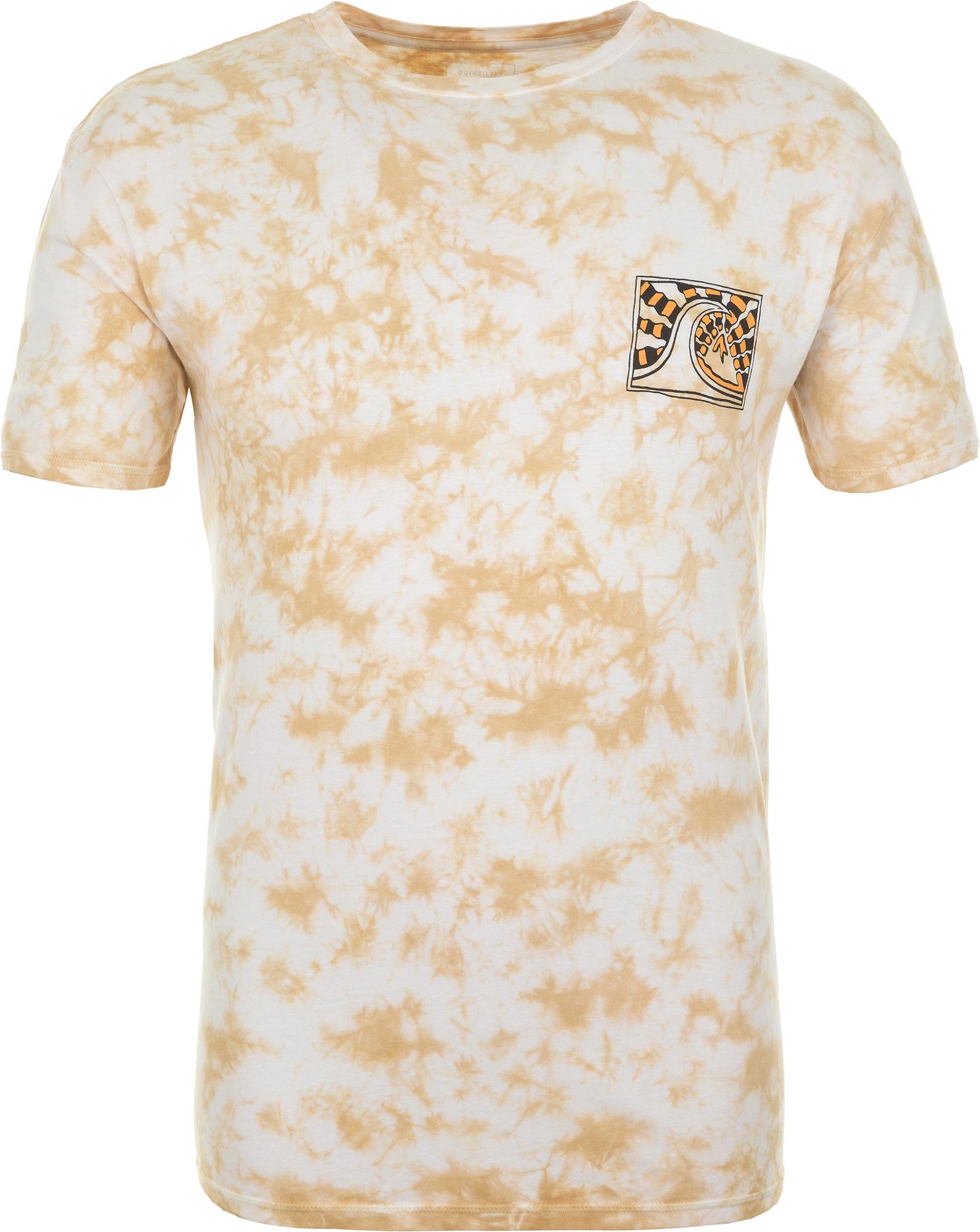 футболка мужская quiksilver цвет серый eqyzt04286 ktah размер l 50 52 Quiksilver Футболка мужская Quiksilver, размер 52-54