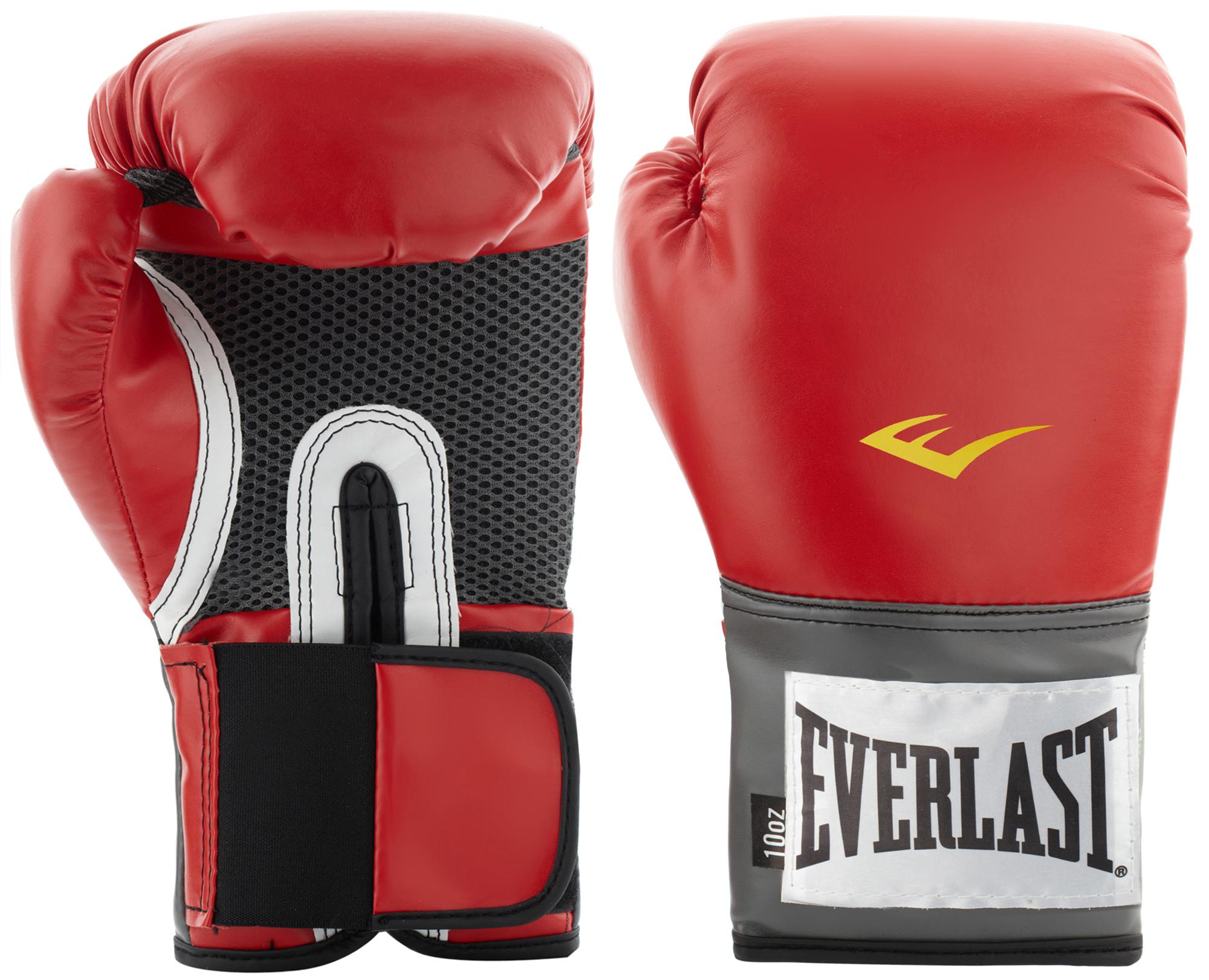 цена на Everlast Перчатки тренировочные Everlast PU Pro Style, размер 14 oz