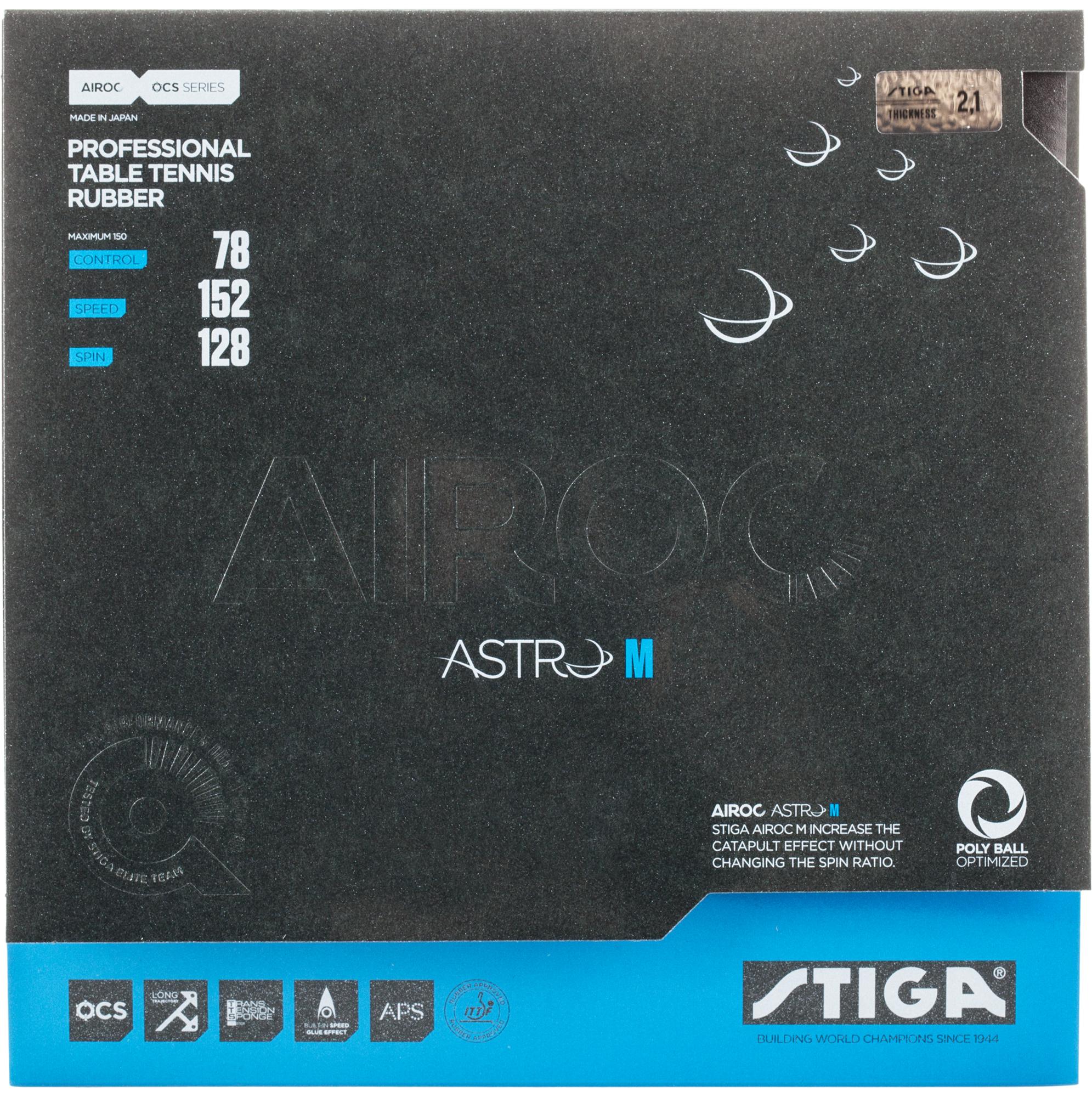 Stiga Накладка Stiga Airoc Astro M 2,1 мм