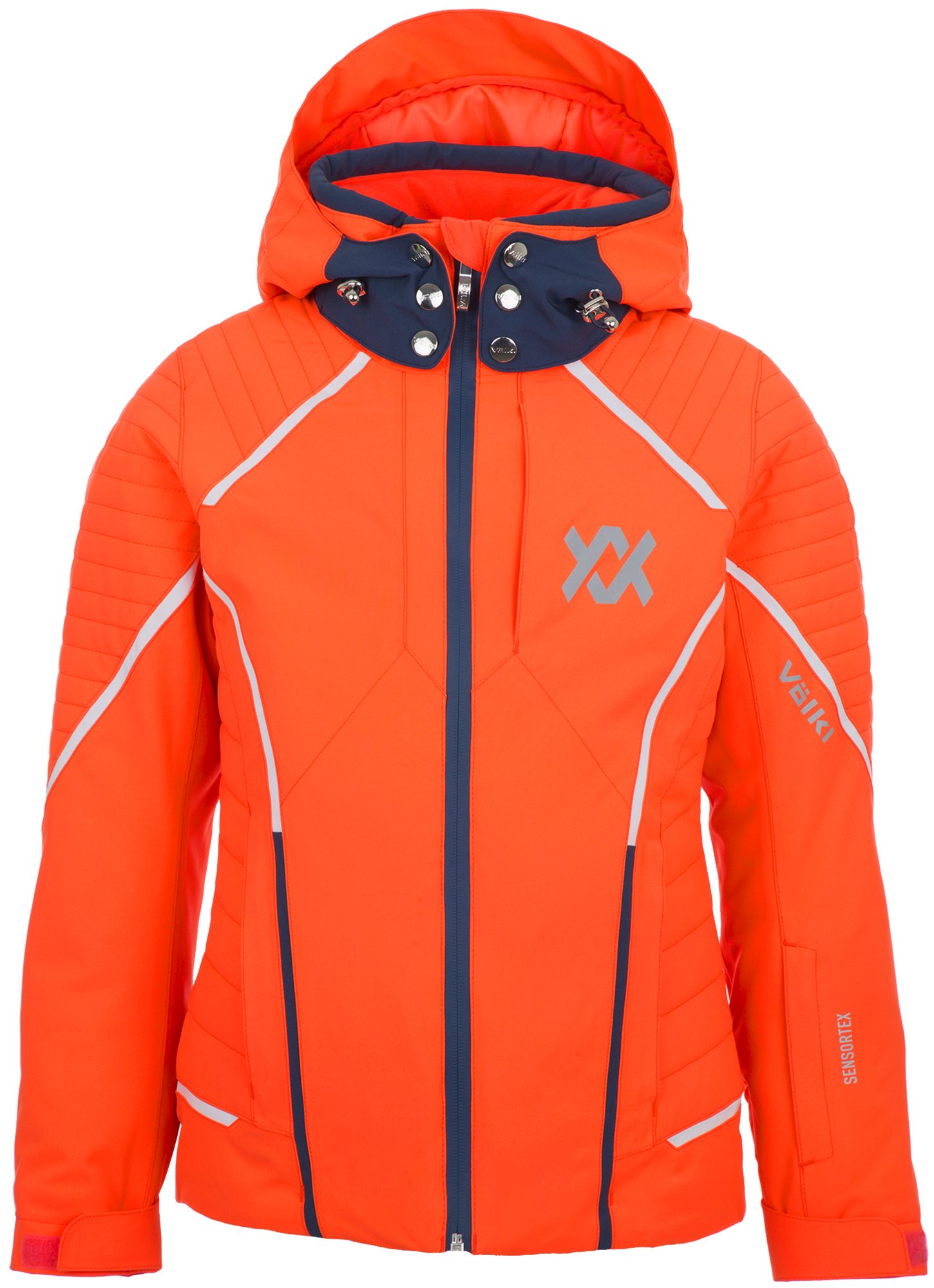 Volkl Куртка утепленная для девочек Volkl, размер 152 volkl volkl flair sc vmotion 11 alu gw lady 18 19 размер 158