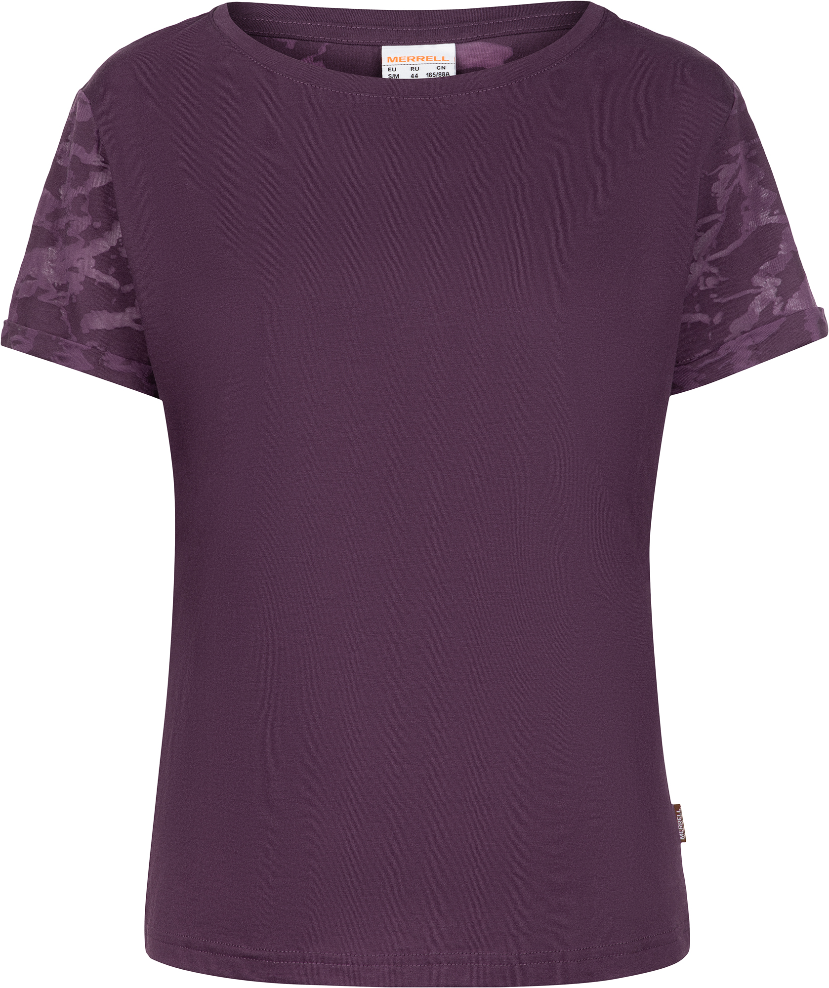 Merrell Футболка женская Merrell, размер 52 xtep женская тонкая воздухопроницаемая спортивная футболка