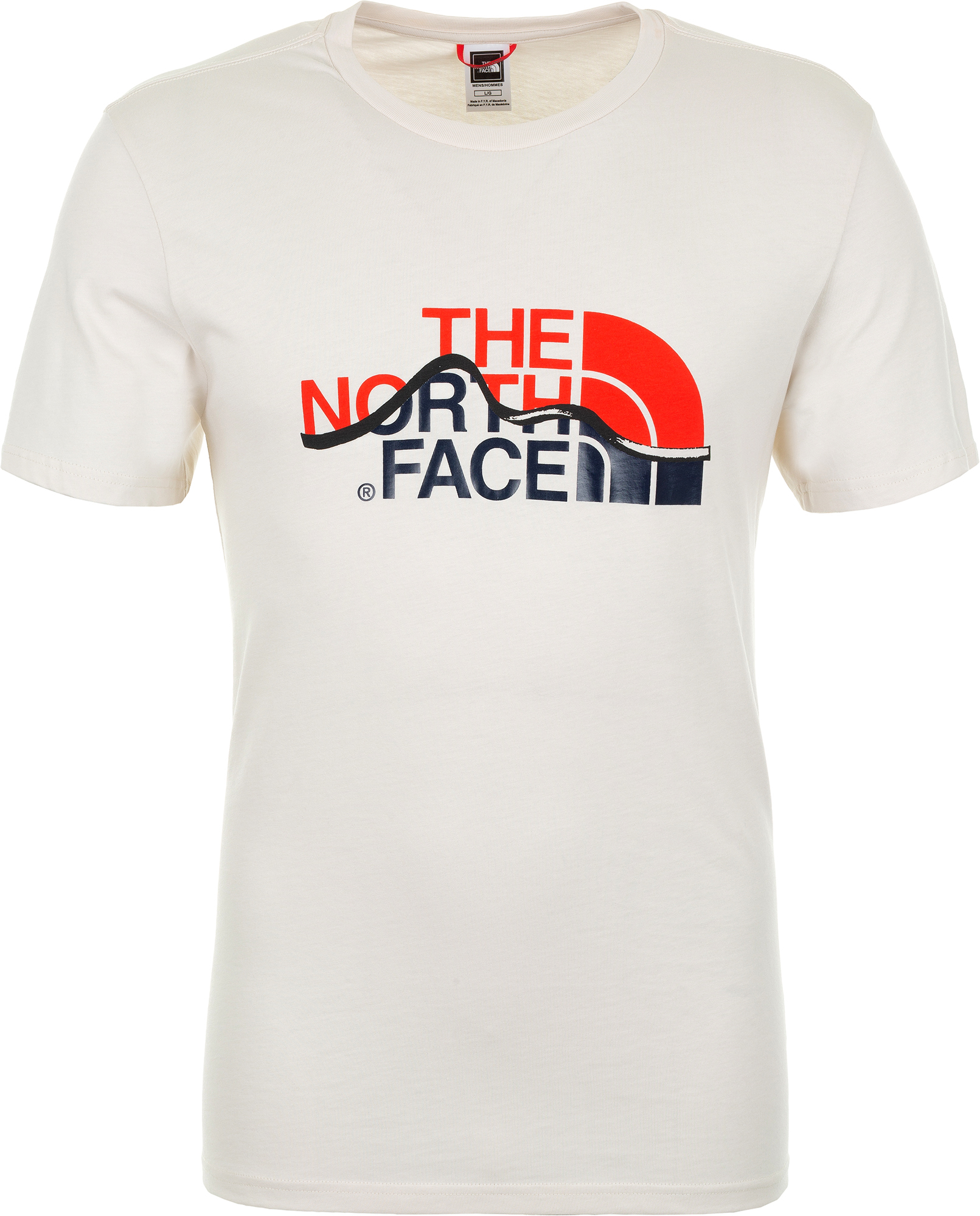 The North Face Футболка мужская The North Face Mountain Line, размер 52