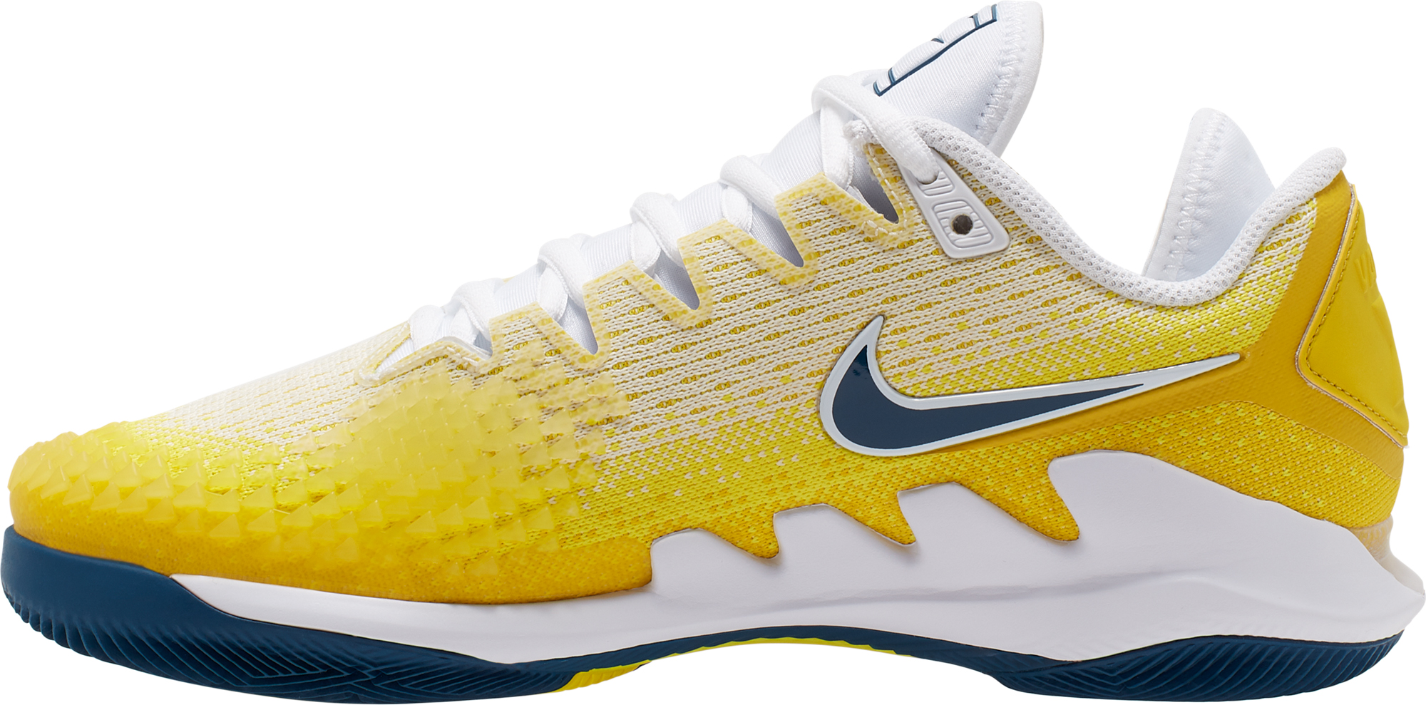 Nike Кроссовки женские Nike Air Zoom Vapor X Knit, размер 39.5 nike кроссовки женские nike zoom cage 3 размер 41