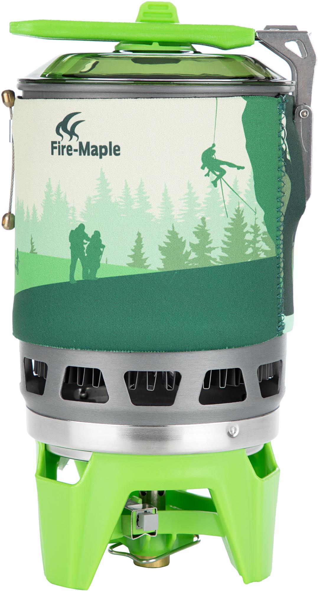 Fire-Maple Газовая горелка Fire-Maple набор посуды fire maple fire maple титановой horizon 1