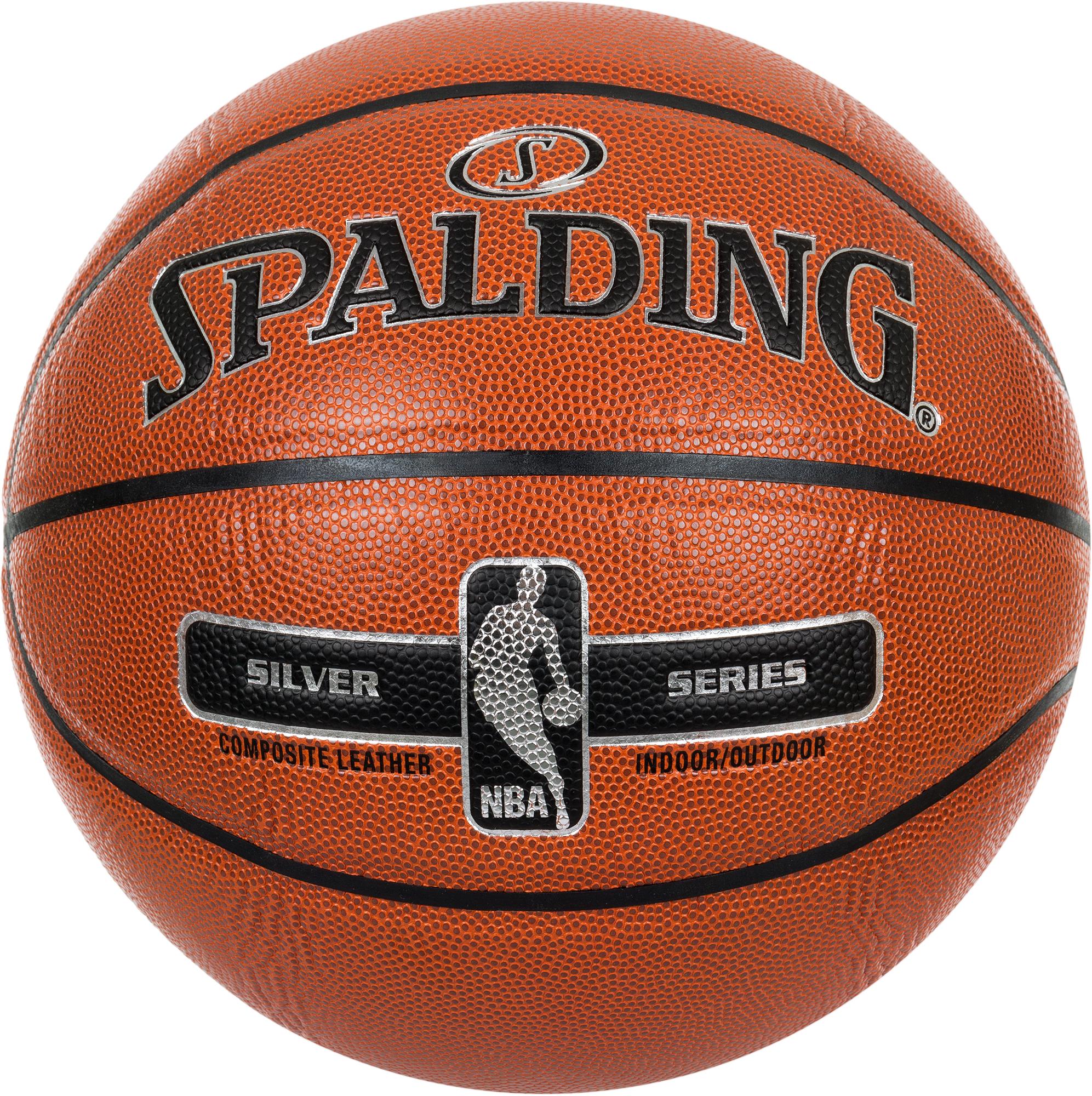 Spalding Мяч баскетбольный Spalding NBA Silver Series цена