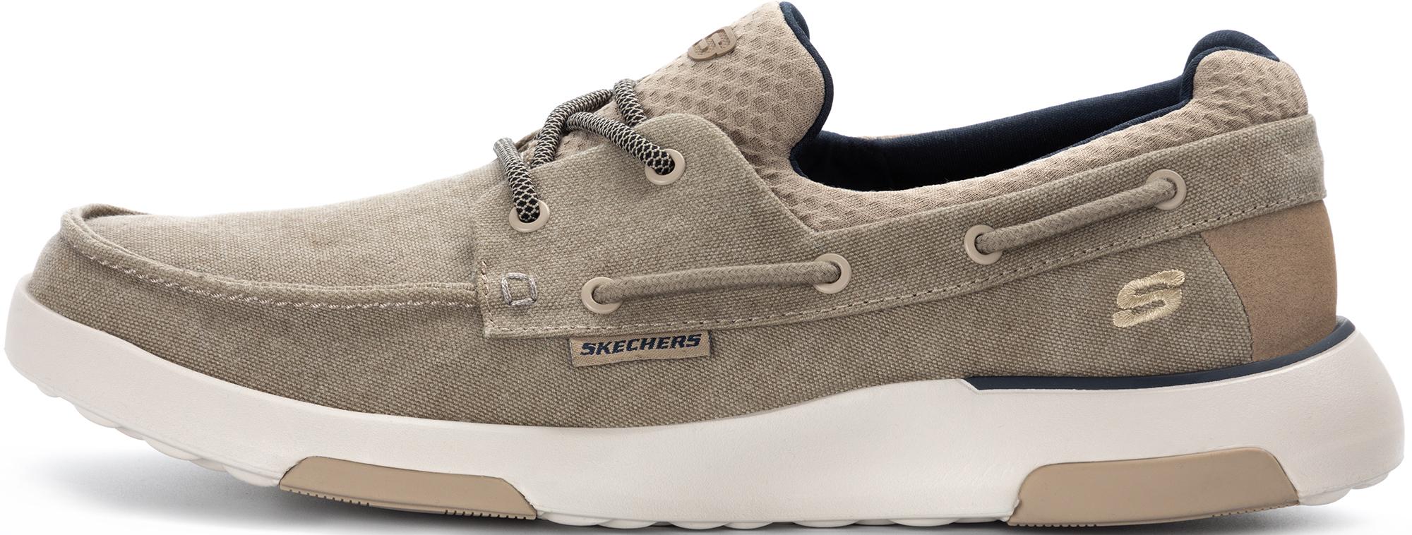цена Skechers Полуботинки мужские Skechers Bellinger-Garmo, размер 40 онлайн в 2017 году