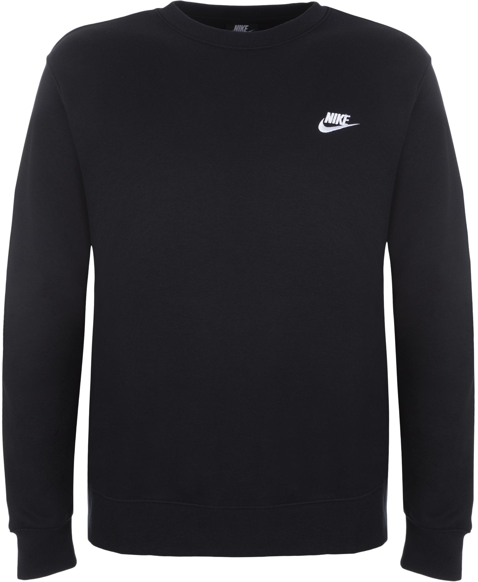 Nike Свитшот мужской Nike Club Crew, размер 52-54 цена и фото