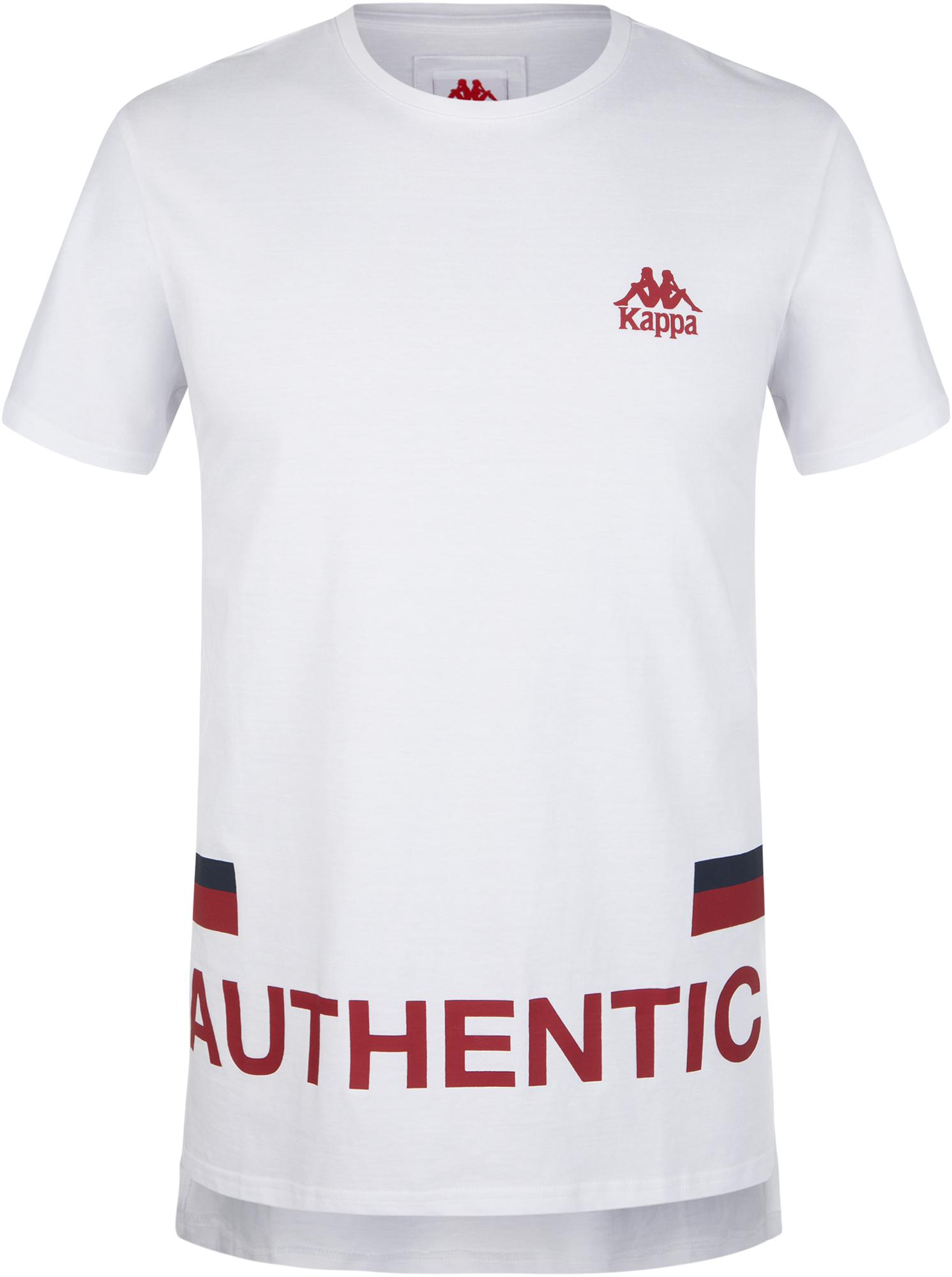 цена Kappa Футболка мужская Kappa, размер 48 онлайн в 2017 году
