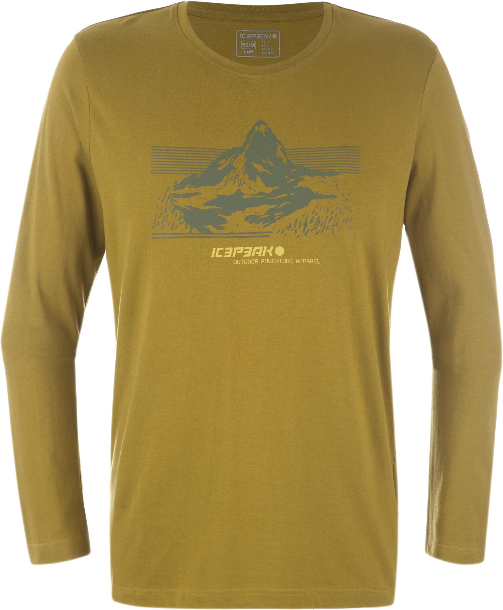 IcePeak Футболка с длинным рукавом мужская IcePeak Valta мужская футболка с цветами
