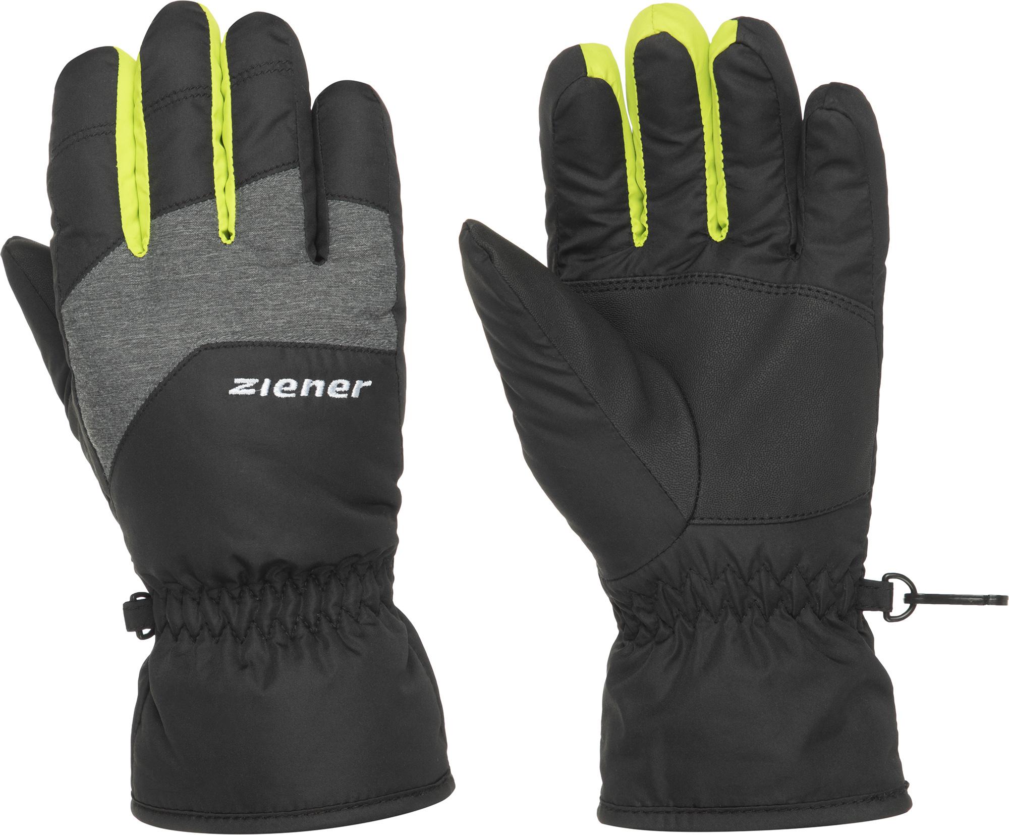 Перчатки для мальчиков Ziener, размер 5,5