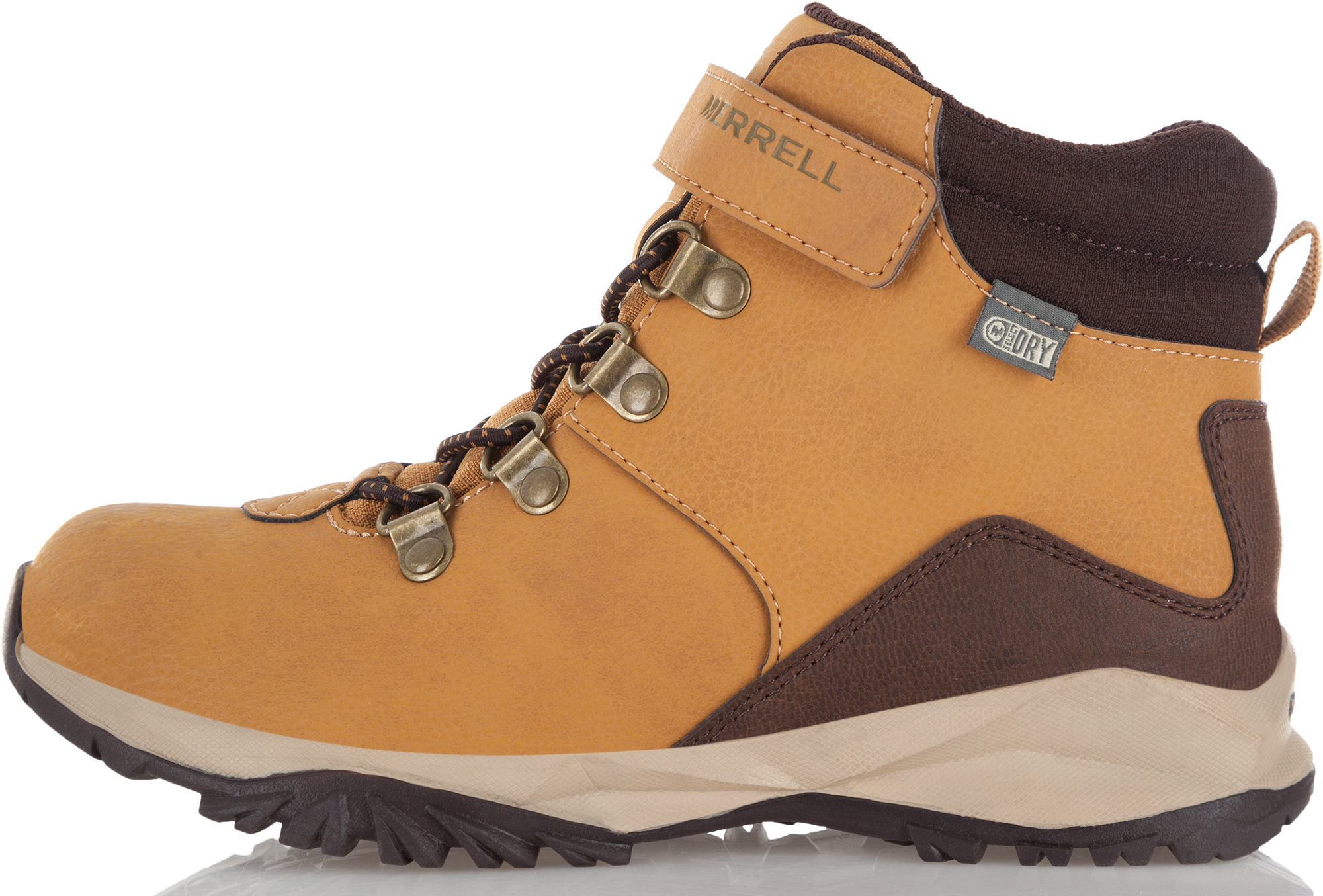 Merrell Ботинки детские Merrell Ml-Boys Alpine Casual Boot Wtr, размер 40,5 цены онлайн