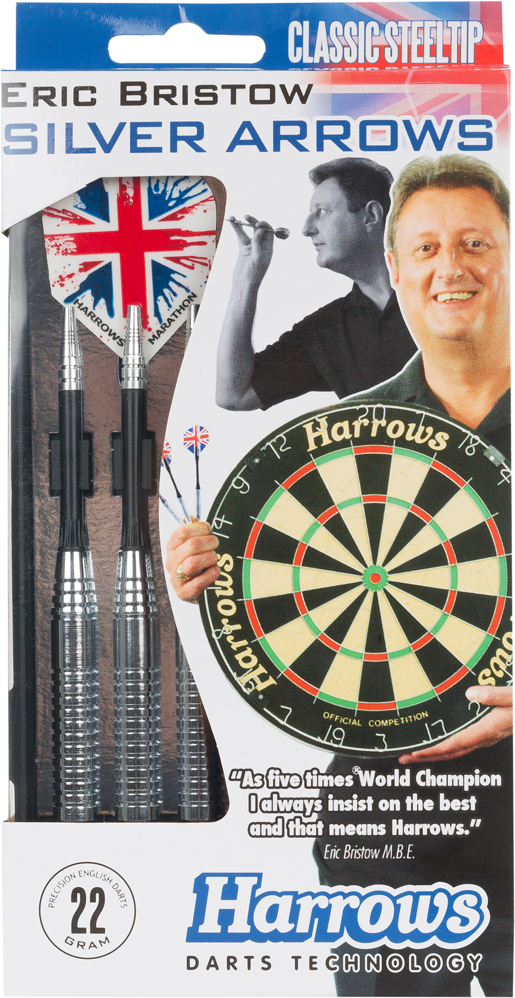 Harrows Дротики Harrows Eric Bristow Silver Arrows цена